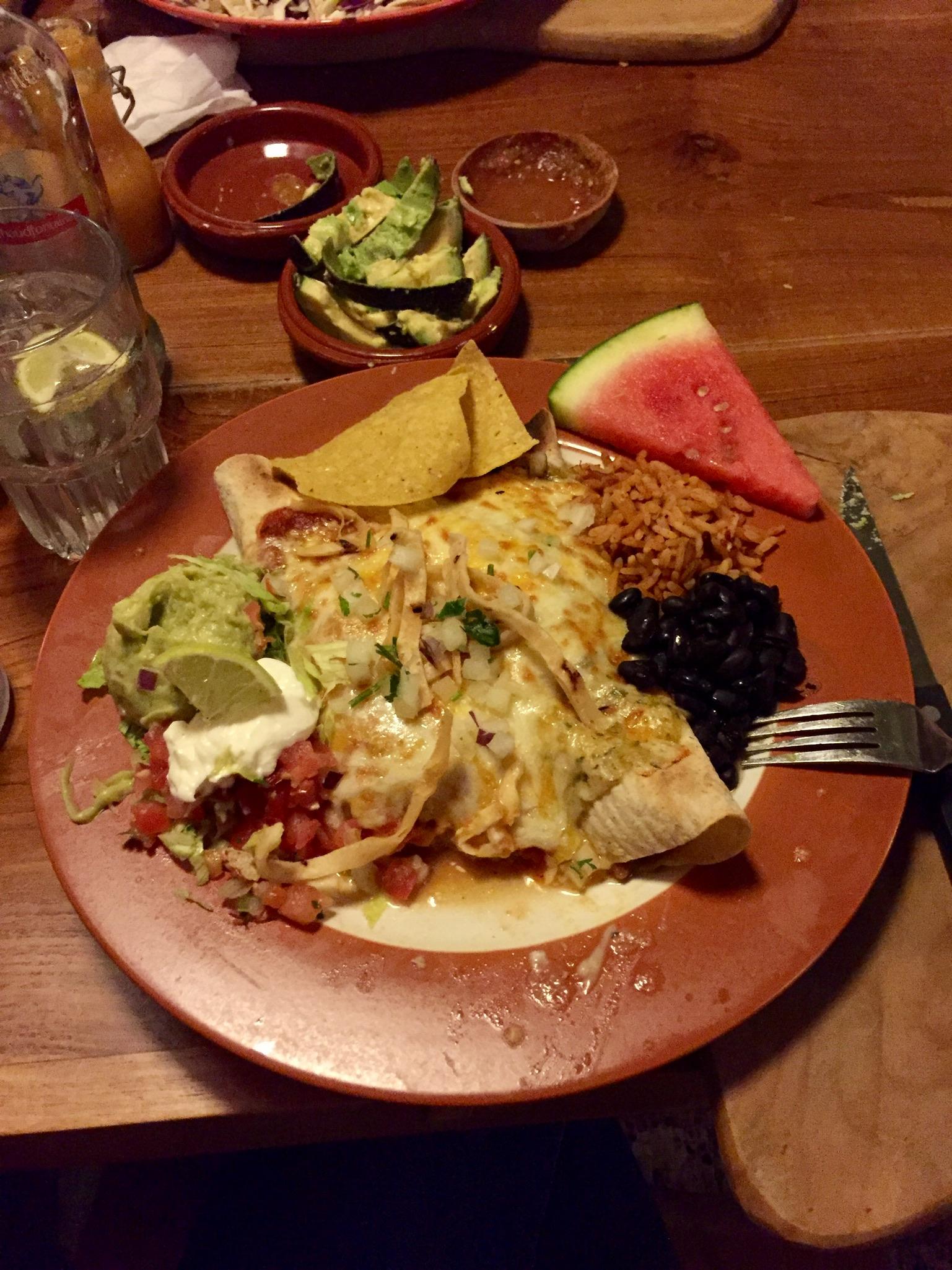 Enchiladas at Cantina 023 in Haarlem.