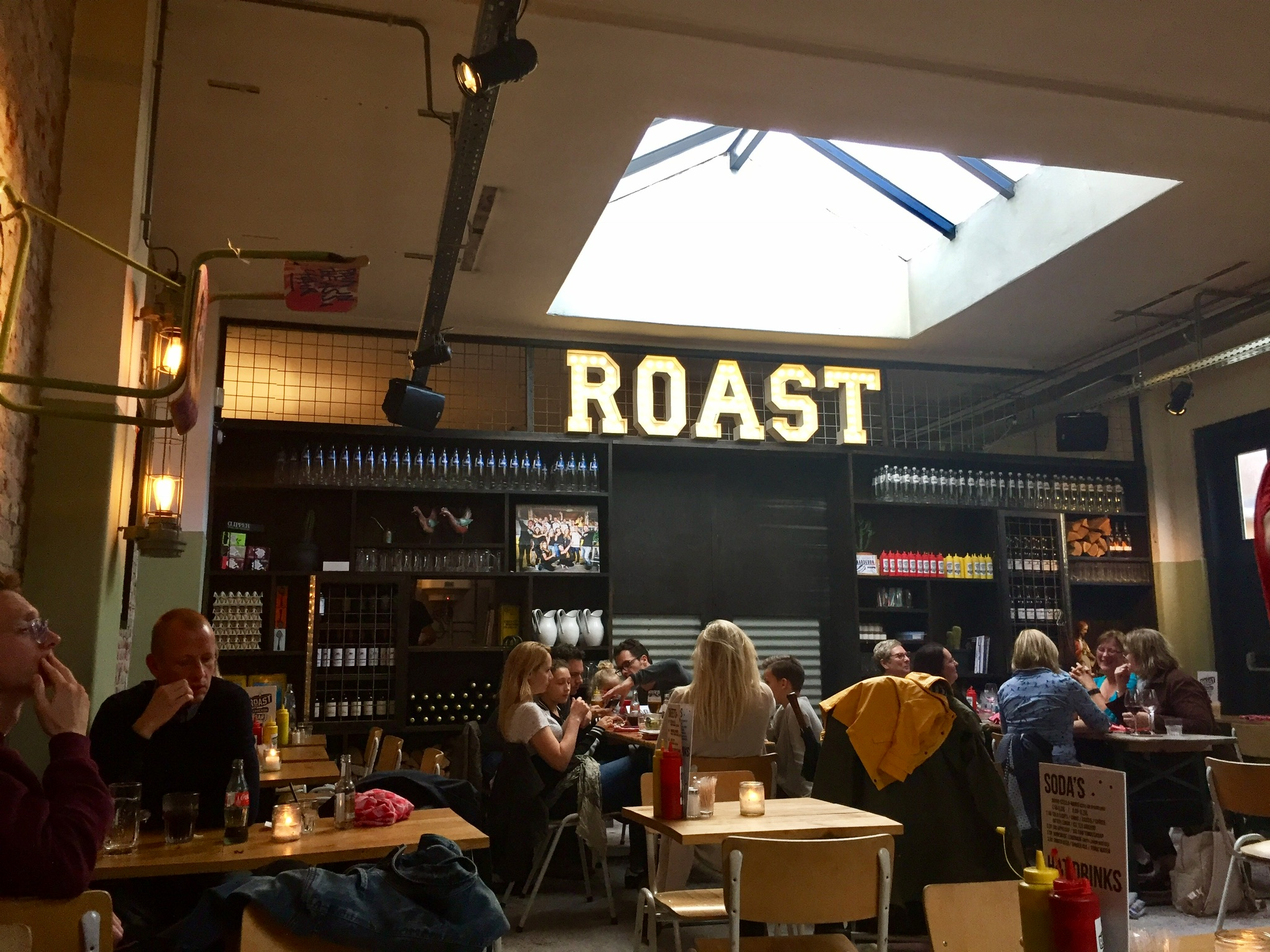 Roast Chicken Bar and The Egg Store, Haarlem.Photo taken with iPhone 6.