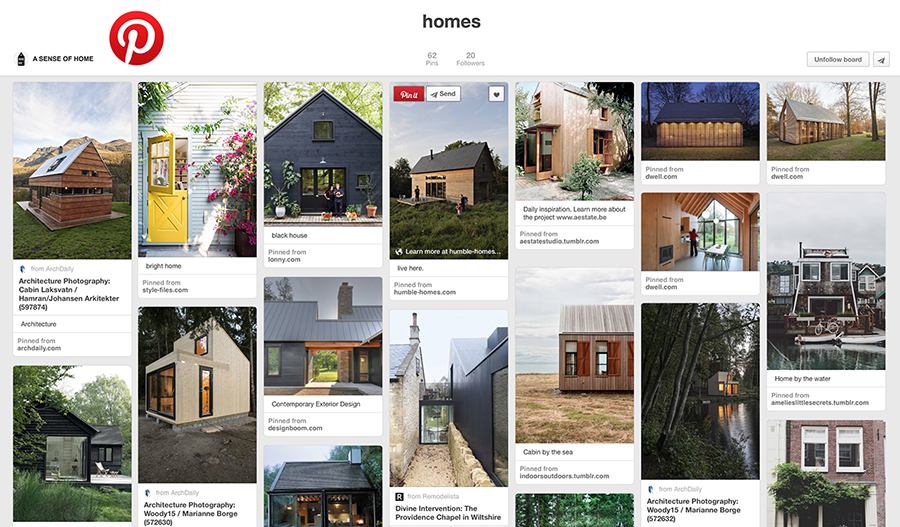 Collect your ideas and inspirations on Pinterest...
