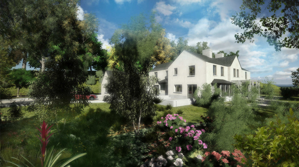 Proposed New Five-Bedroom A-Rated House Overlooking the Liffey Near Lucan, Co. Dublin.