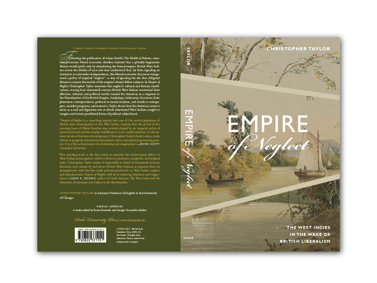 Cover Design for  Empire of Neglect  [Duke Press]
