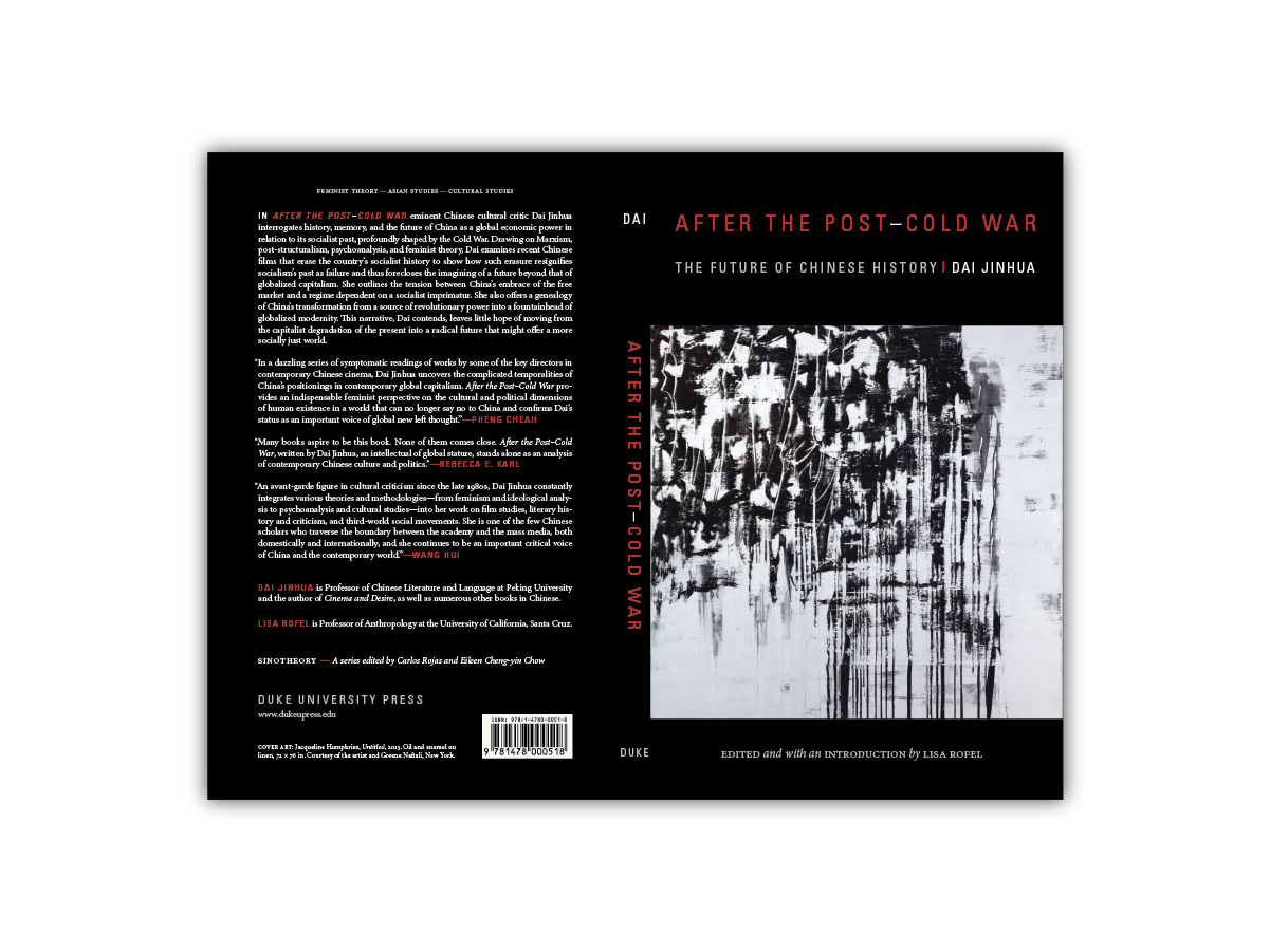 Cover Design for  After the Post- Cold War  [Duke Press]