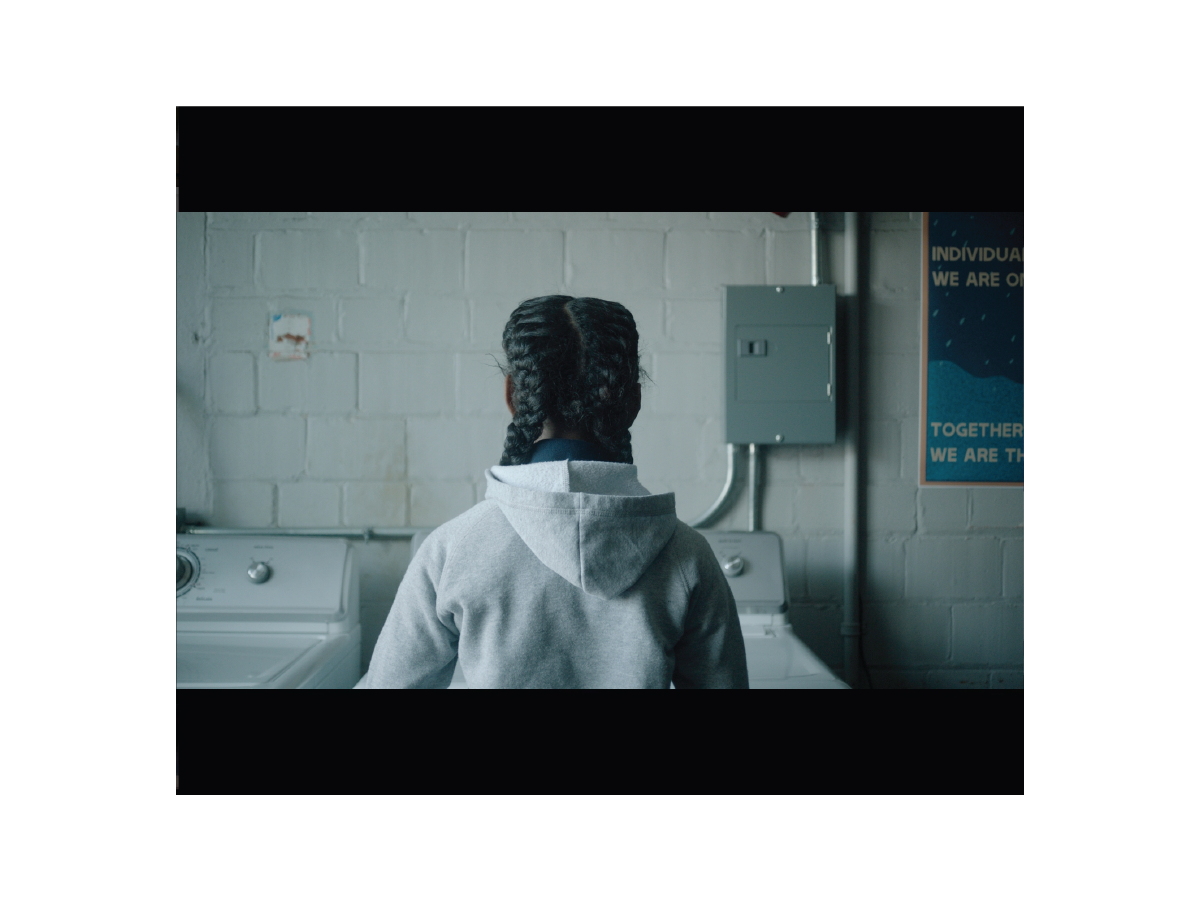 Poster on set of  The Fits Film