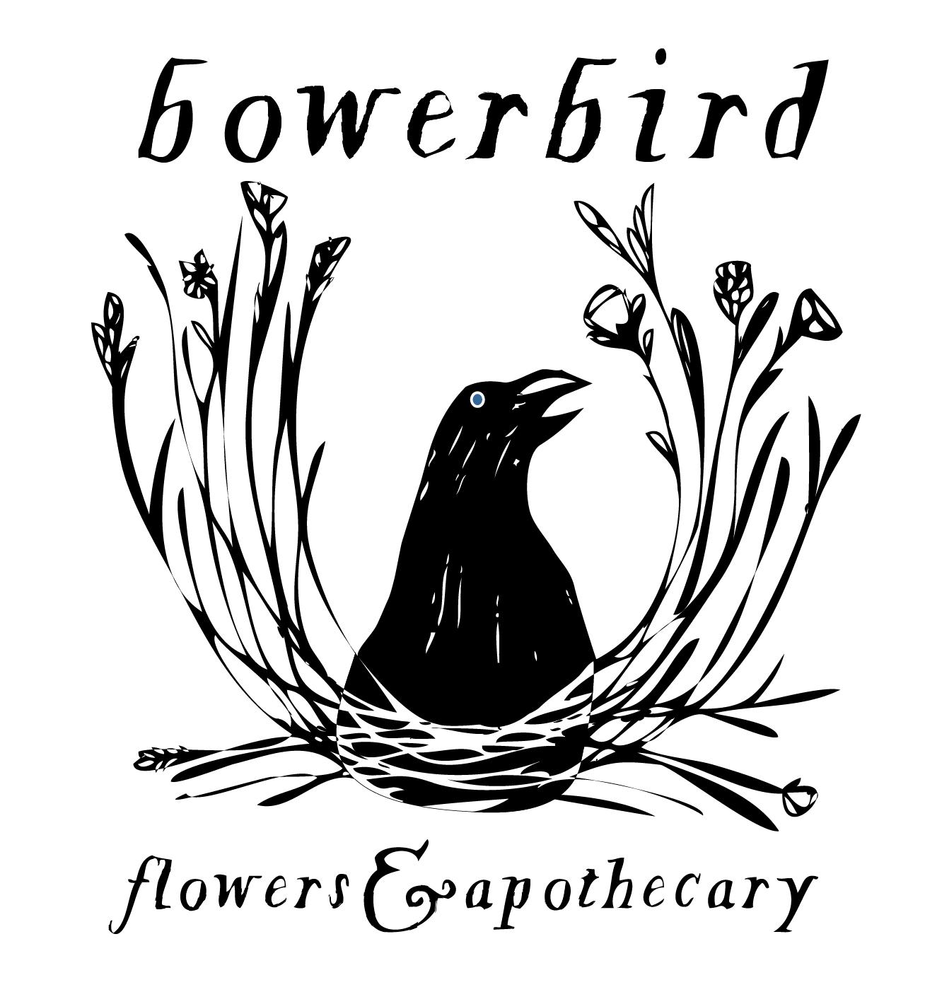 Logo for Bowerbird Flowers