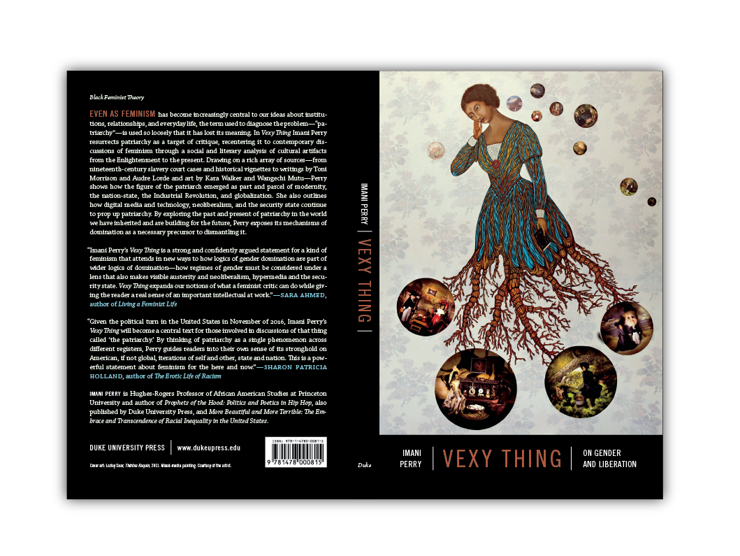 Cover Design for  Vexy Thing  [Duke Press]