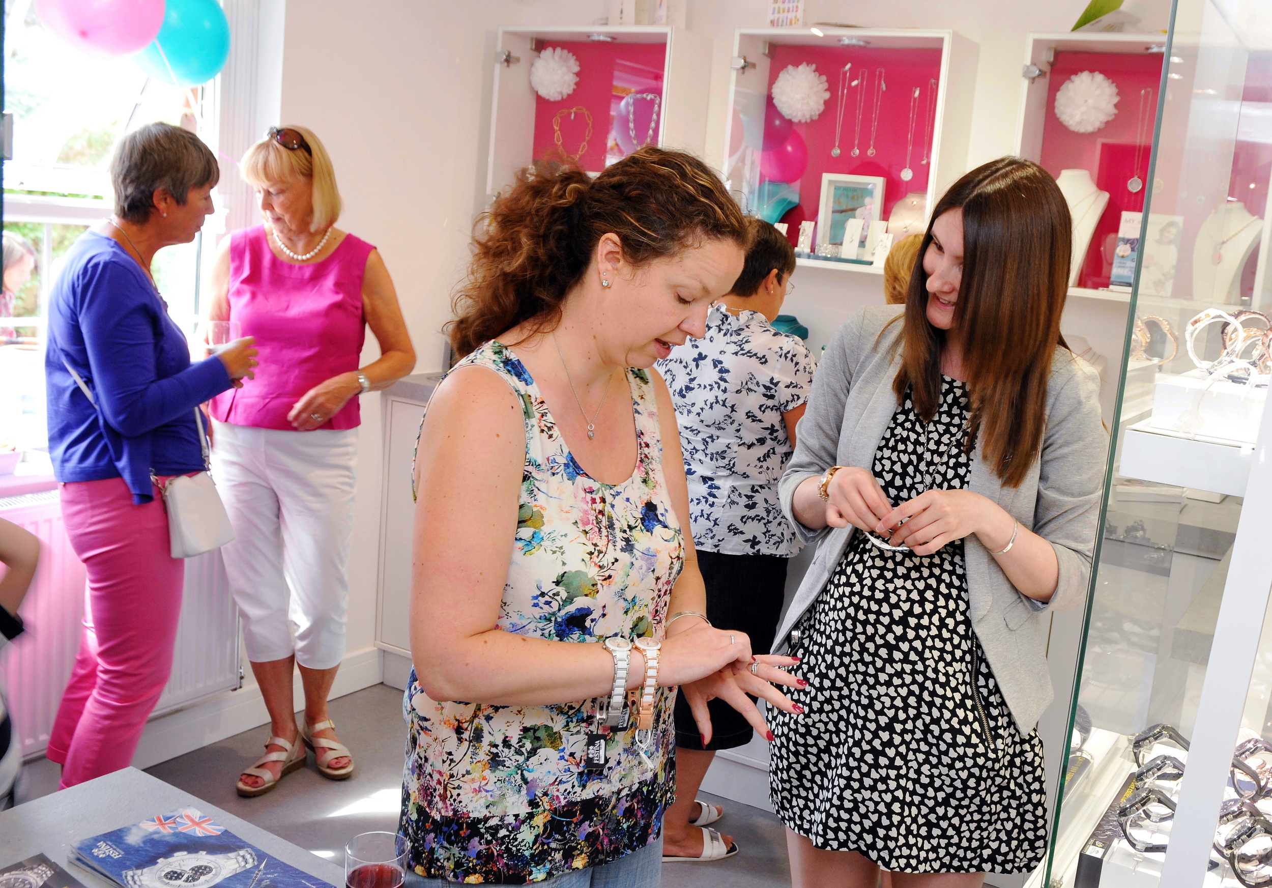 LUCY SHOWS CUSTOMERS NEW RANGE OF FESTINA WATCHES