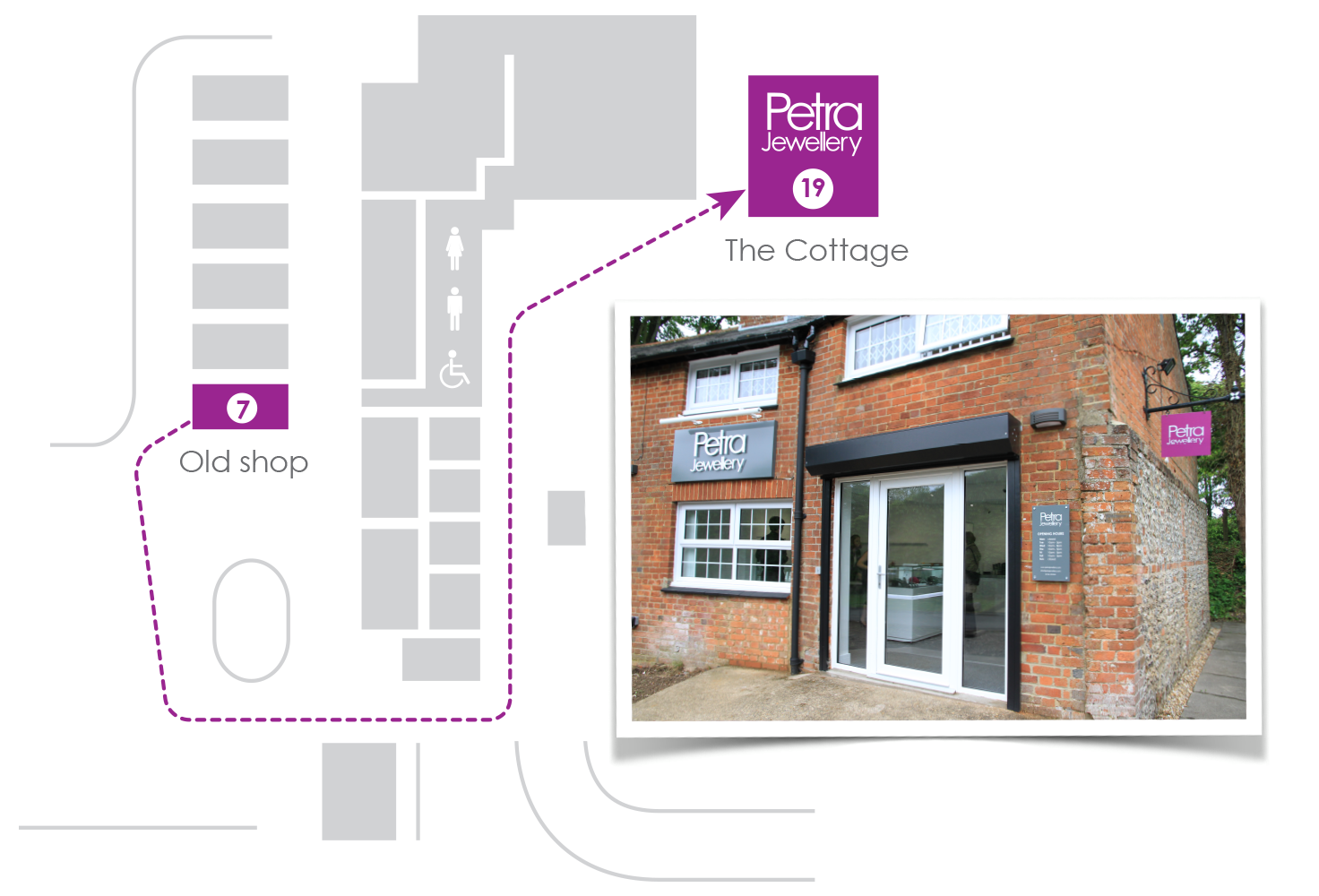 We have only moved round the corner from our old shop and it's really easy to find us at the viables craft centre!