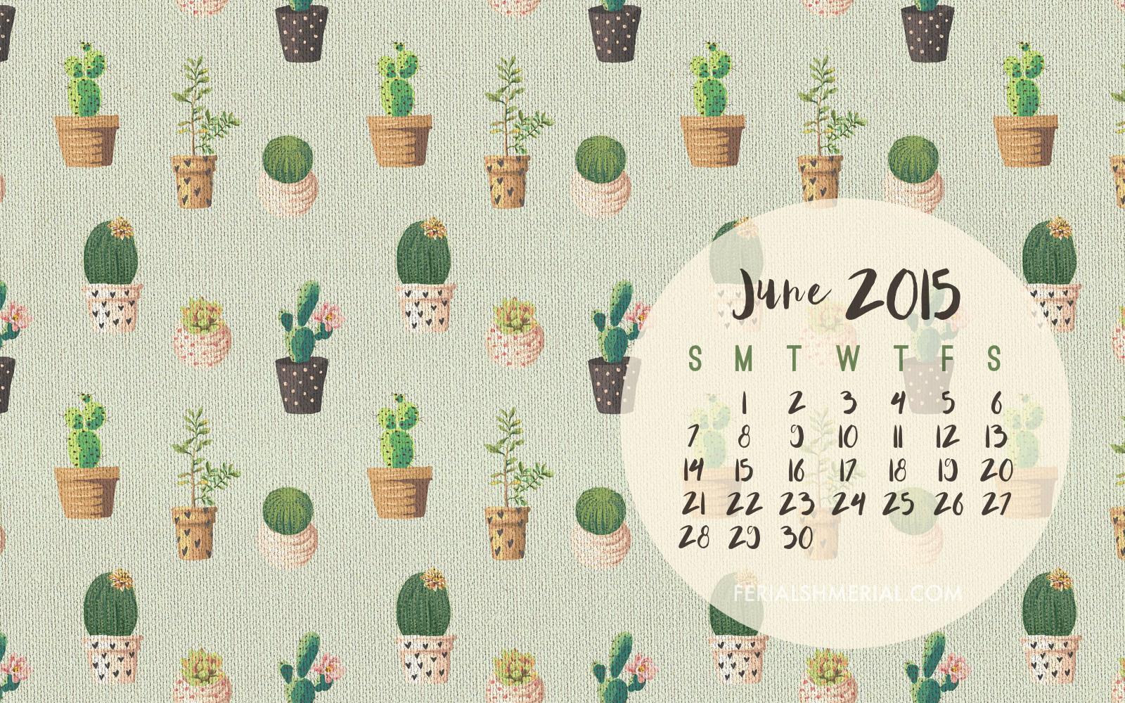 Click here to download the June desktop calendar and phone wallpaper.