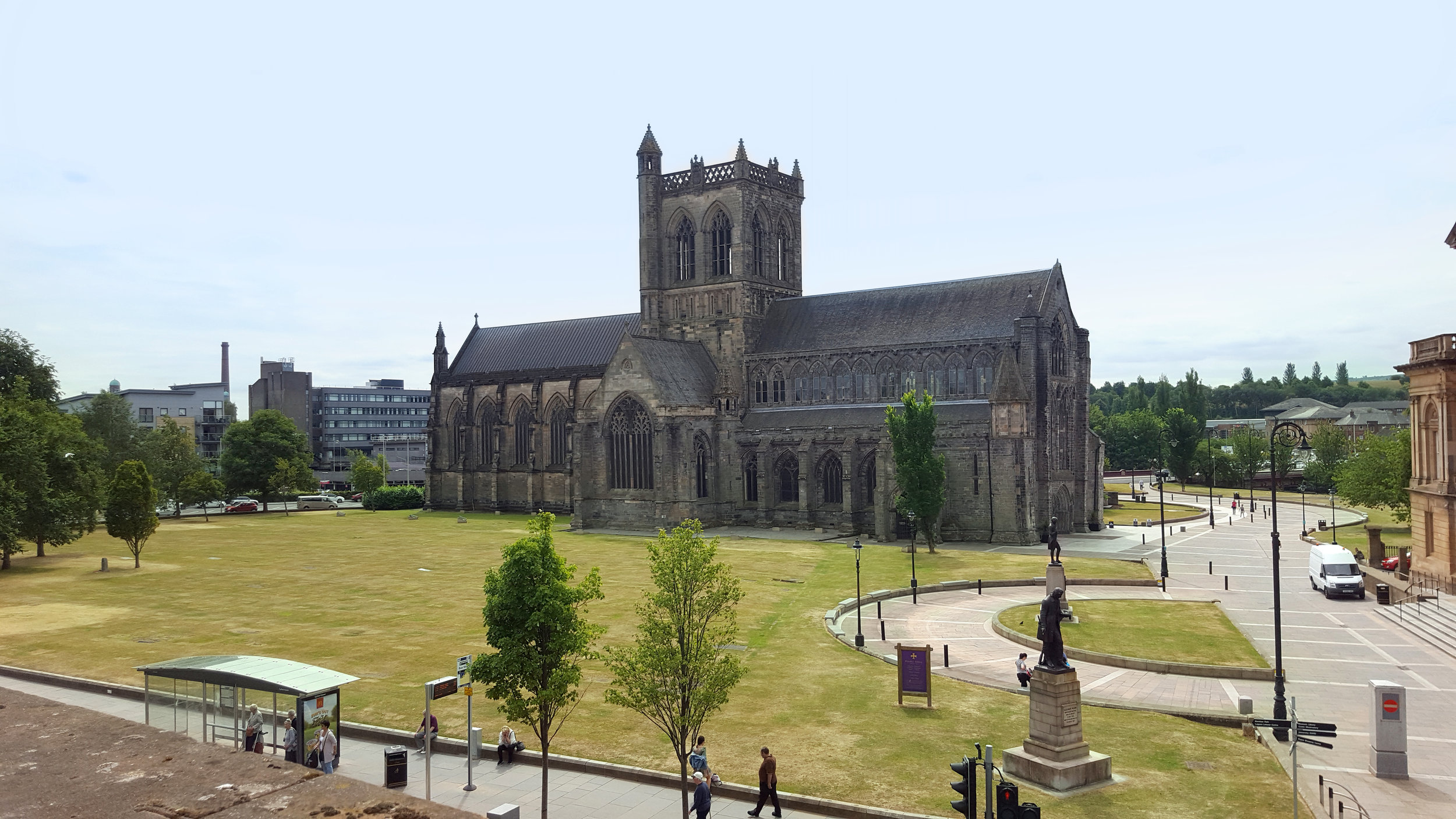 The Paisley Abbey in our town.