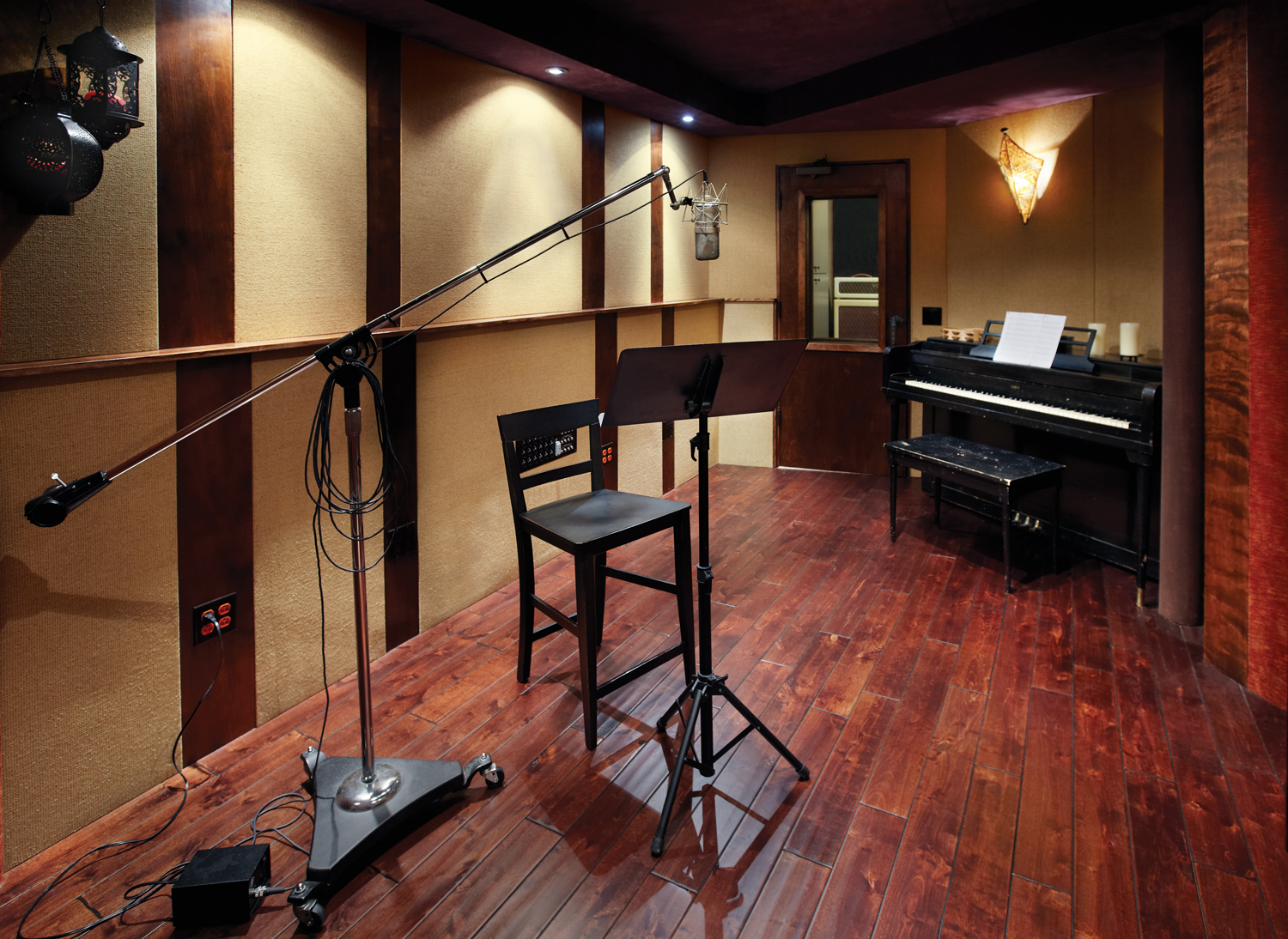 Live Room with view of 2nd Vocal Booth