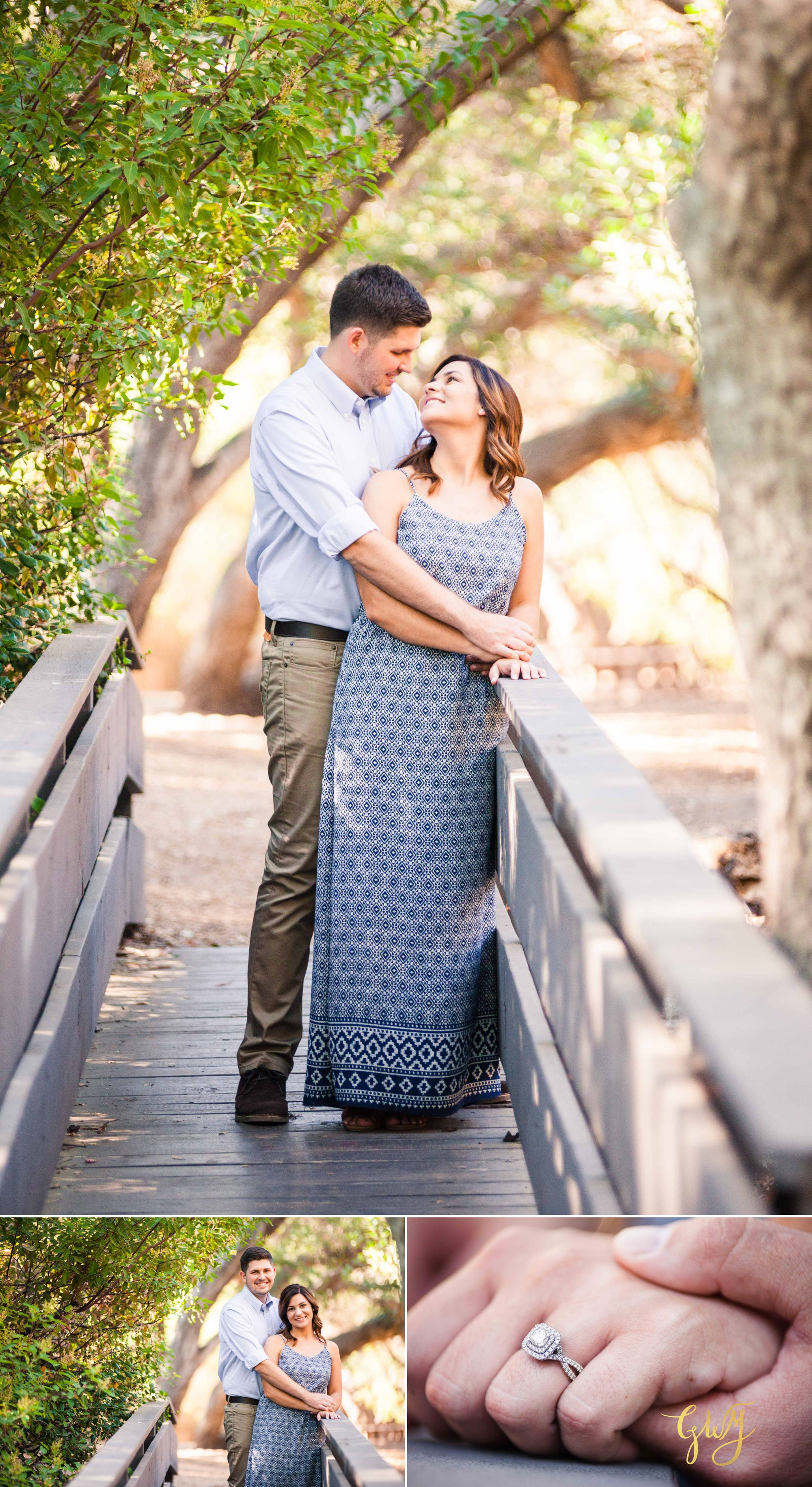 Allison + Jared Oak Canyon Nature Center Corona Del Mar Beach Sunset by Glass Woods Media 3.jpg