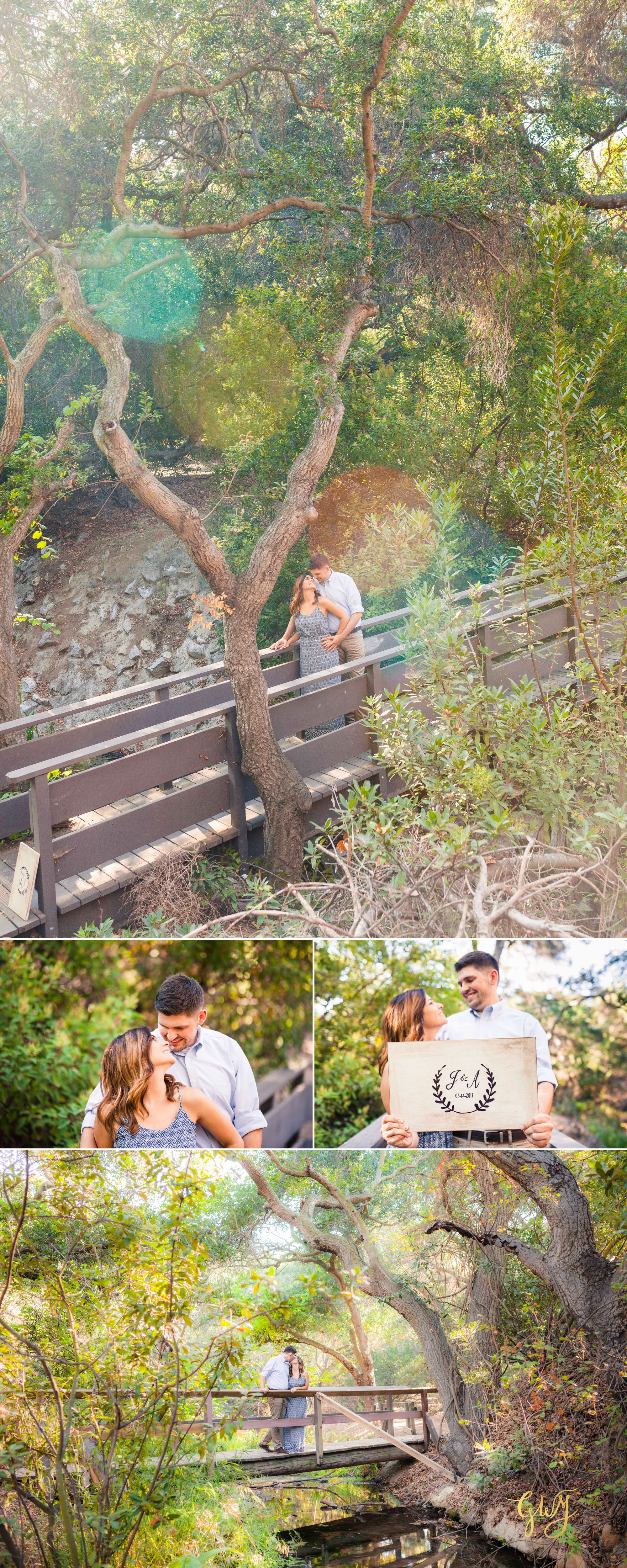 Allison + Jared Oak Canyon Nature Center Corona Del Mar Beach Sunset by Glass Woods Media 5.jpg