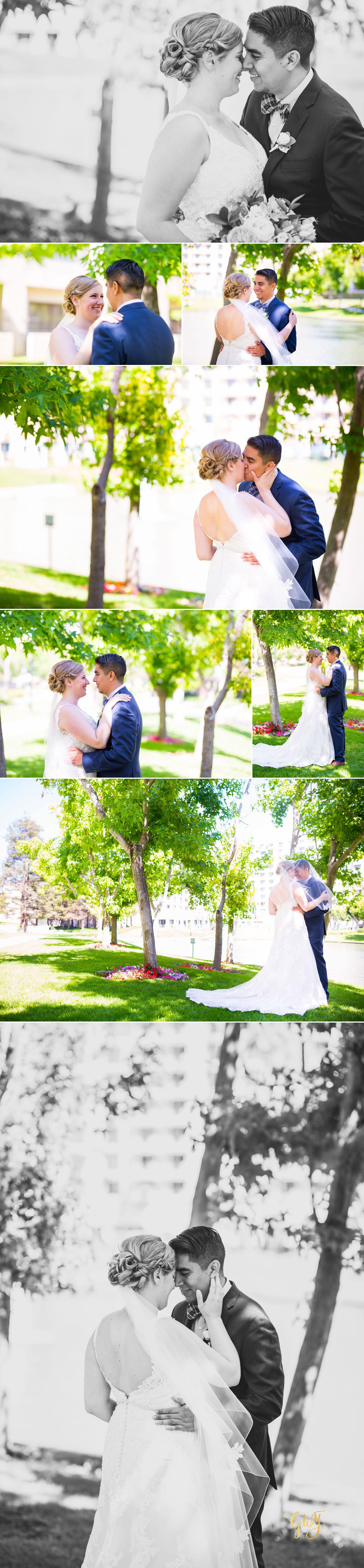 Javier + Kari Avenue of the Arts First Look Vintage Rose Wedding Ceremony Reception by Glass Woods Media 11.jpg