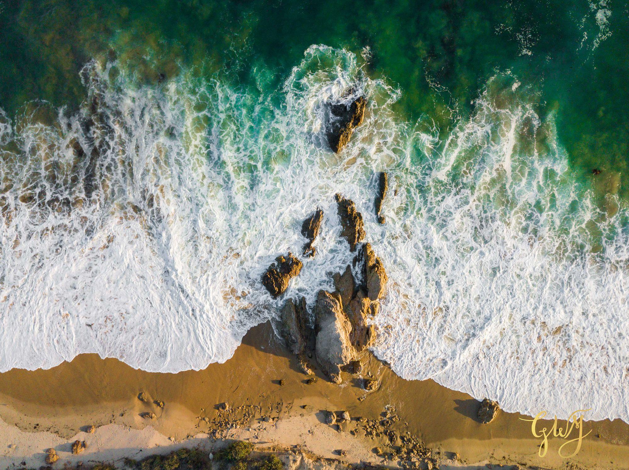 Amanda + Joe Reef Point Crystal Cove Newport Beach Sunset Romantic Intimate Elopement by Glass Woods Media 22.jpg