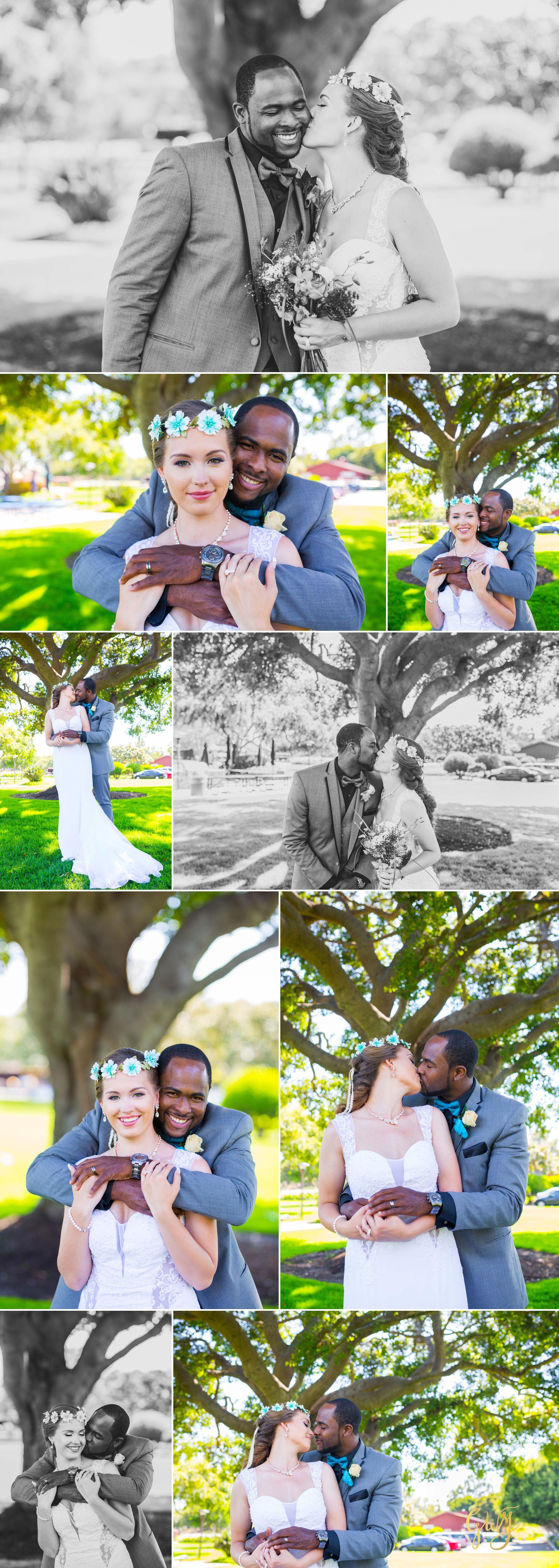 Rebecca + Torand El Segundo Chevron Employee Park Summer Barbados Bajan Wedding by Glass Woods Media 9.jpg
