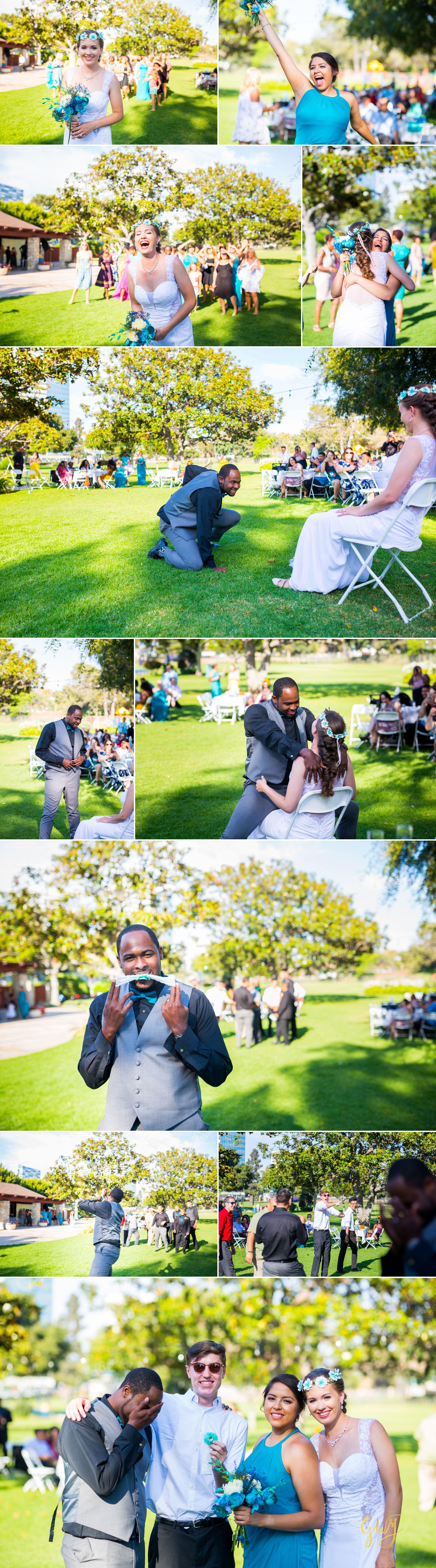 Rebecca + Torand El Segundo Chevron Employee Park Summer Barbados Bajan Wedding by Glass Woods Media 12.jpg