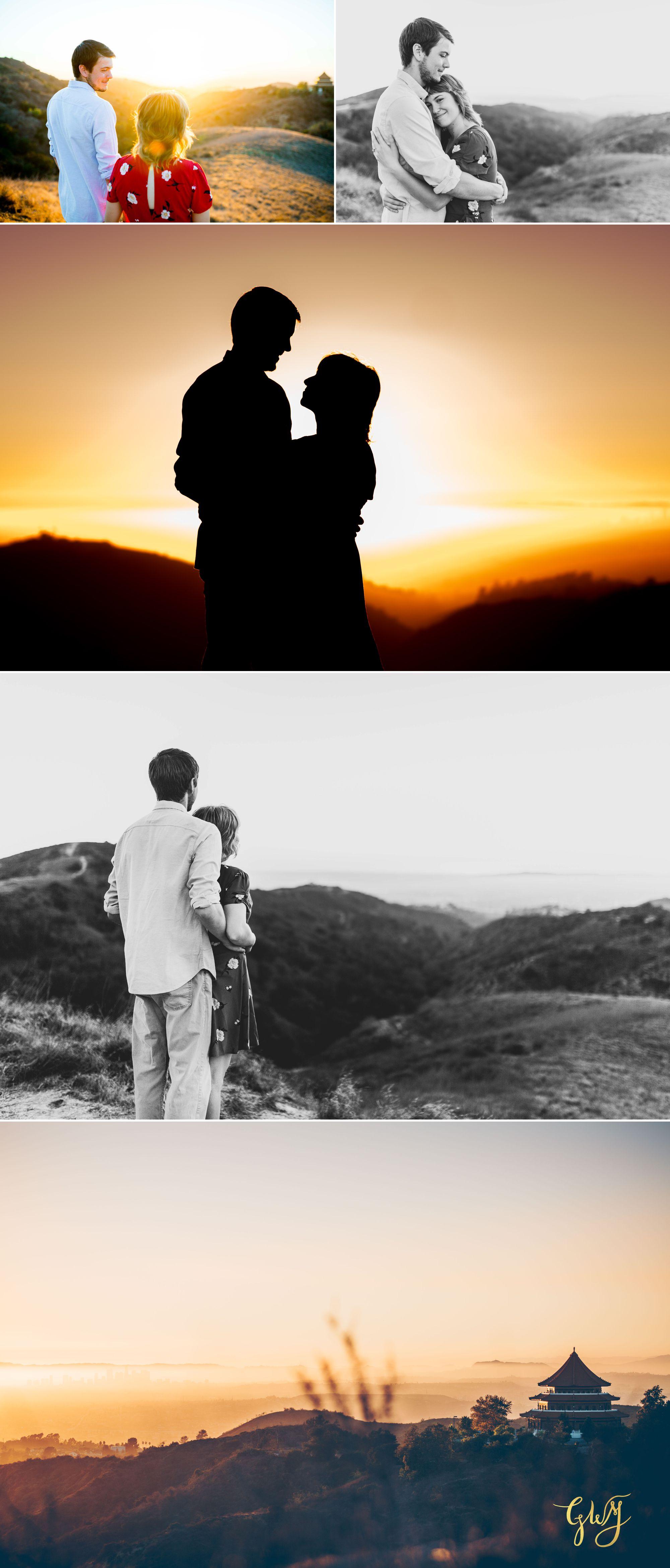 Garrett + Michelle Turnbull Canyon Adventurous Whittier Hike Engagement by Glass Woods Media 8.jpg
