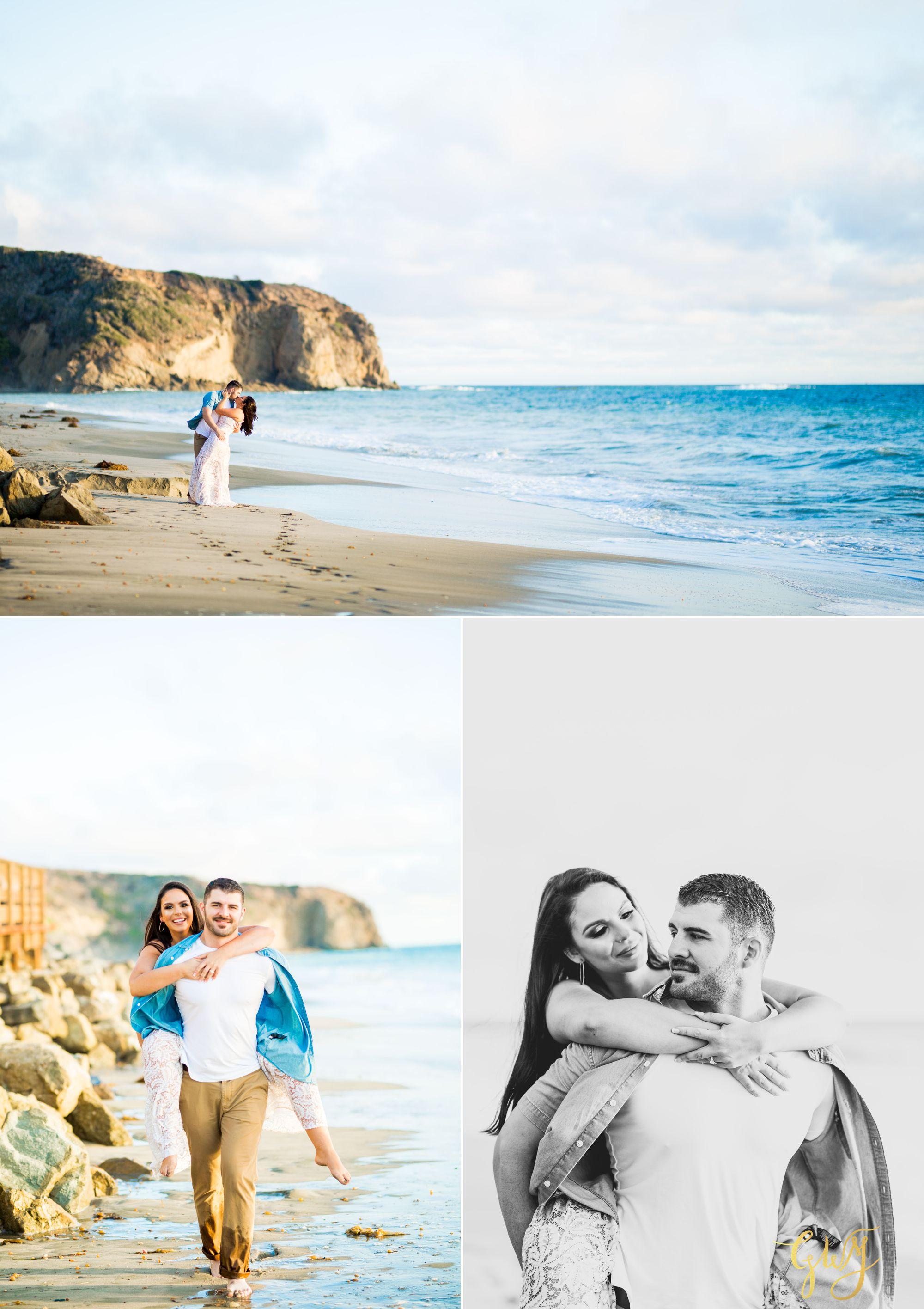 Alejandro + Rachel Mission San Juan Capistrano Strands Beach Dana Point Sunset Engagement by Glass Woods Media 10.jpg
