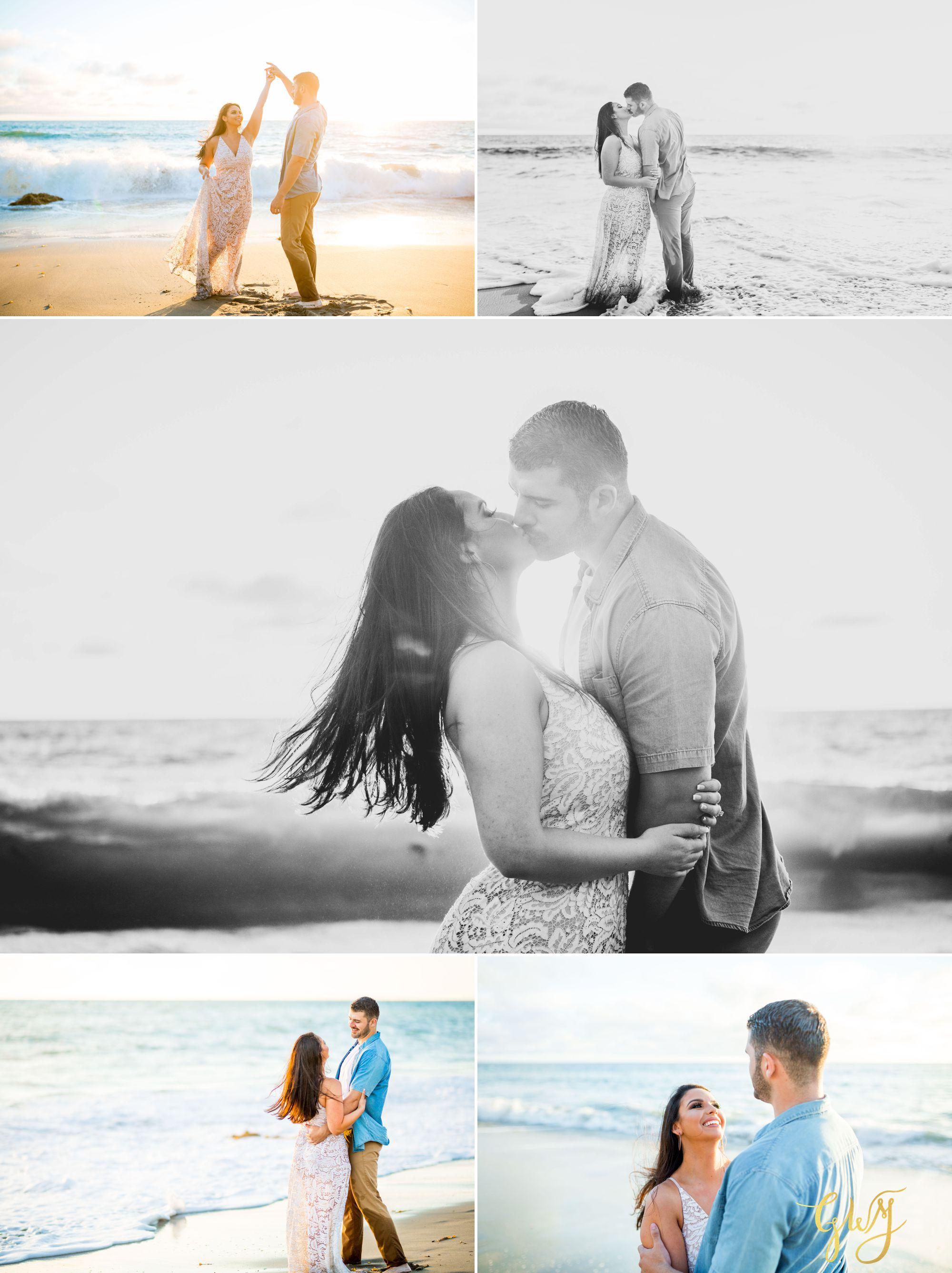 Alejandro + Rachel Mission San Juan Capistrano Strands Beach Dana Point Sunset Engagement by Glass Woods Media 14.jpg