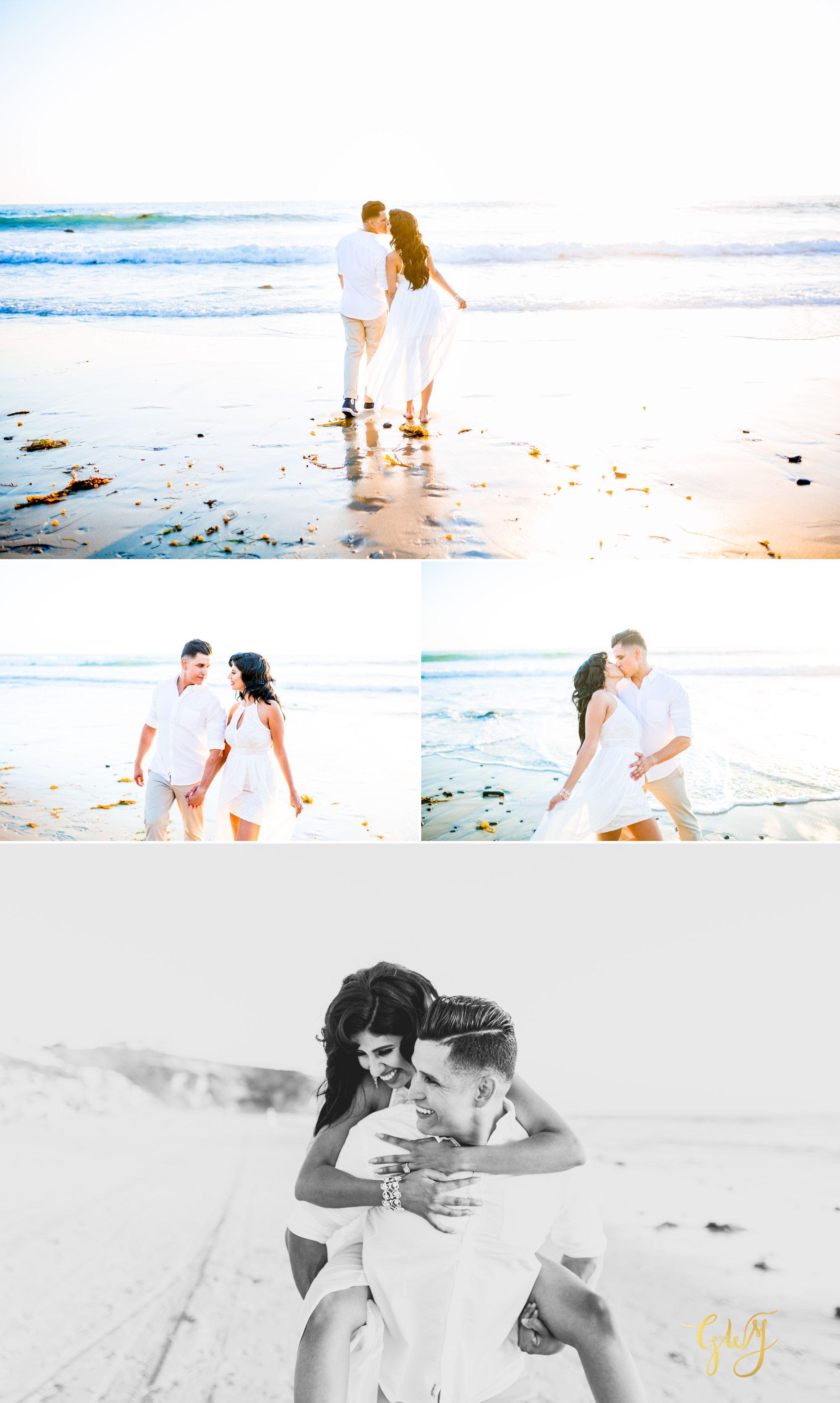 Angela + Drew Mission San Juan Capistrano Strands Beach Sunset Engagement 11.jpg