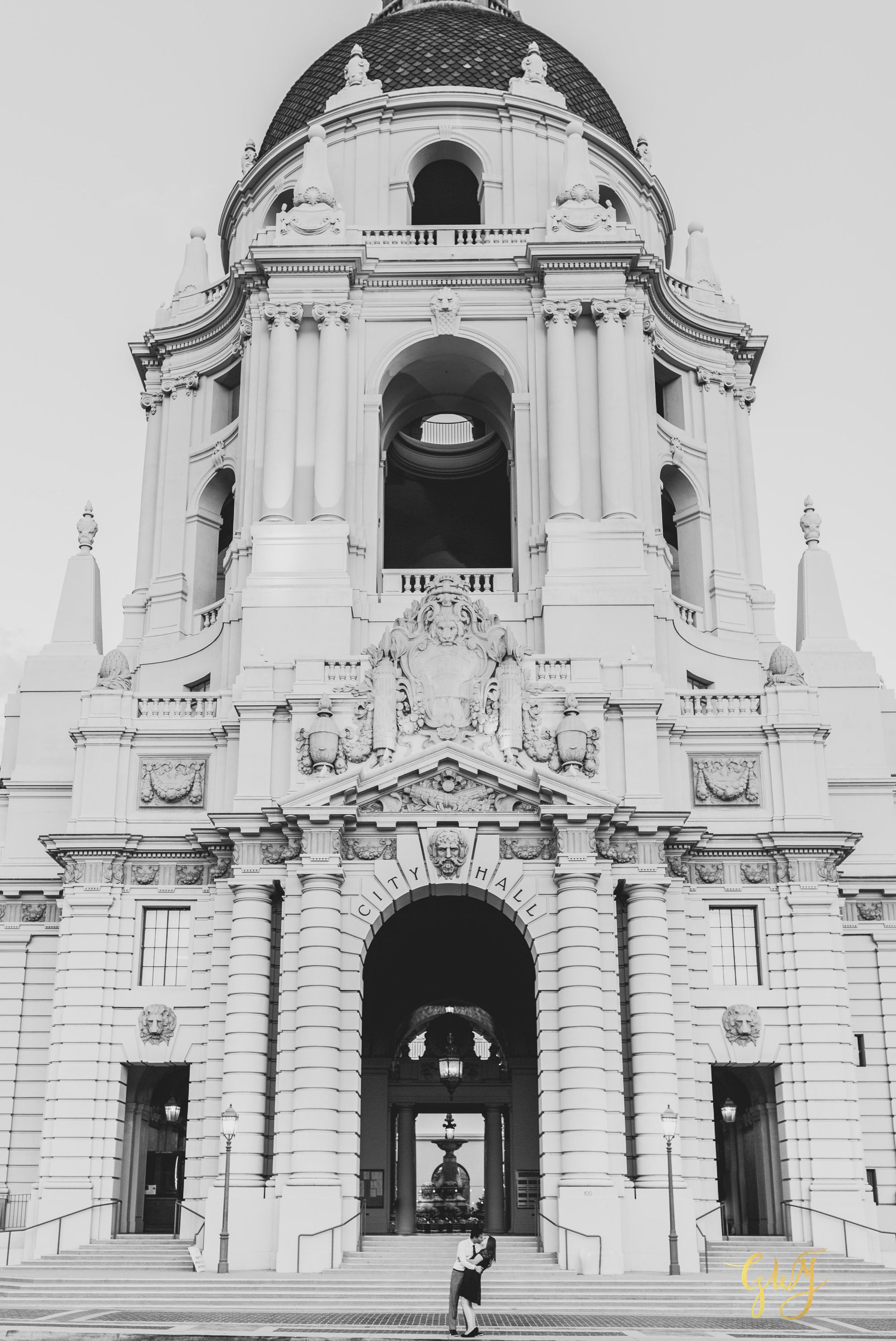 Keira + Michael Los Angeles Arboretum Pasadena City Hall Engagement 16.jpg