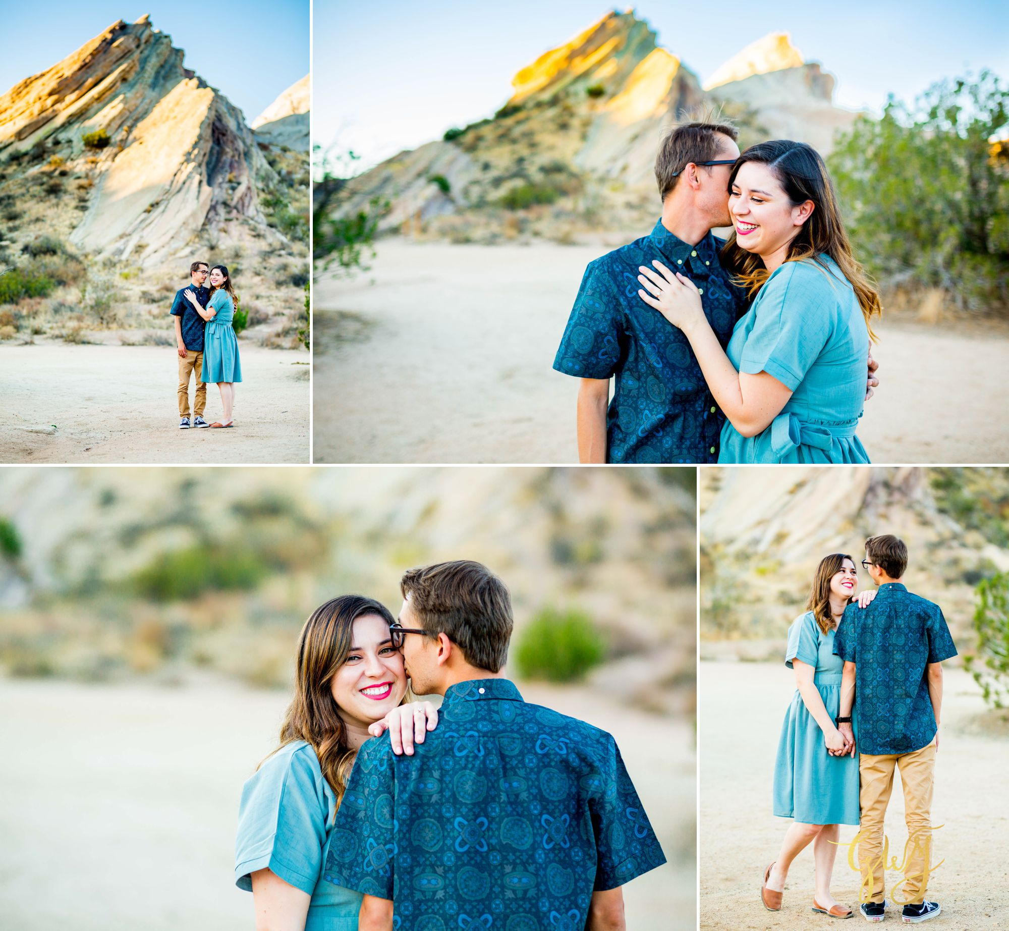 KJ + Maddie Vasquez Rocks Adventurous Hiking Outdoors Engagement Session by Glass Woods Media 3.jpg