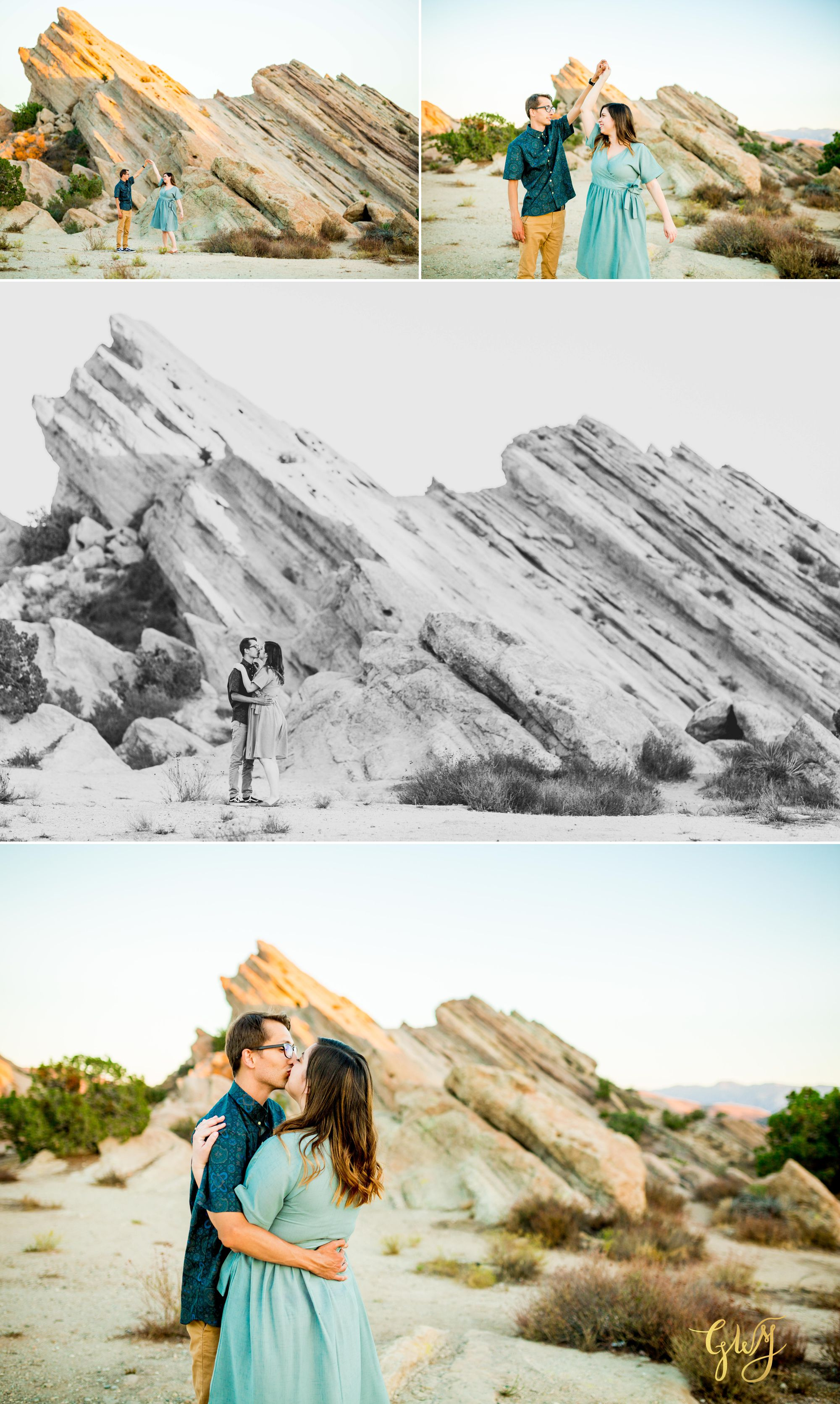 KJ + Maddie Vasquez Rocks Adventurous Hiking Outdoors Engagement Session by Glass Woods Media 10.jpg