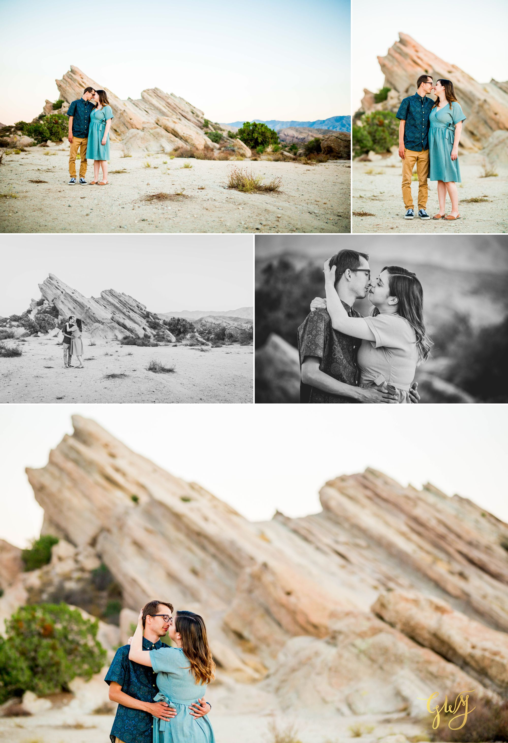 KJ + Maddie Vasquez Rocks Adventurous Hiking Outdoors Engagement Session by Glass Woods Media 14.jpg