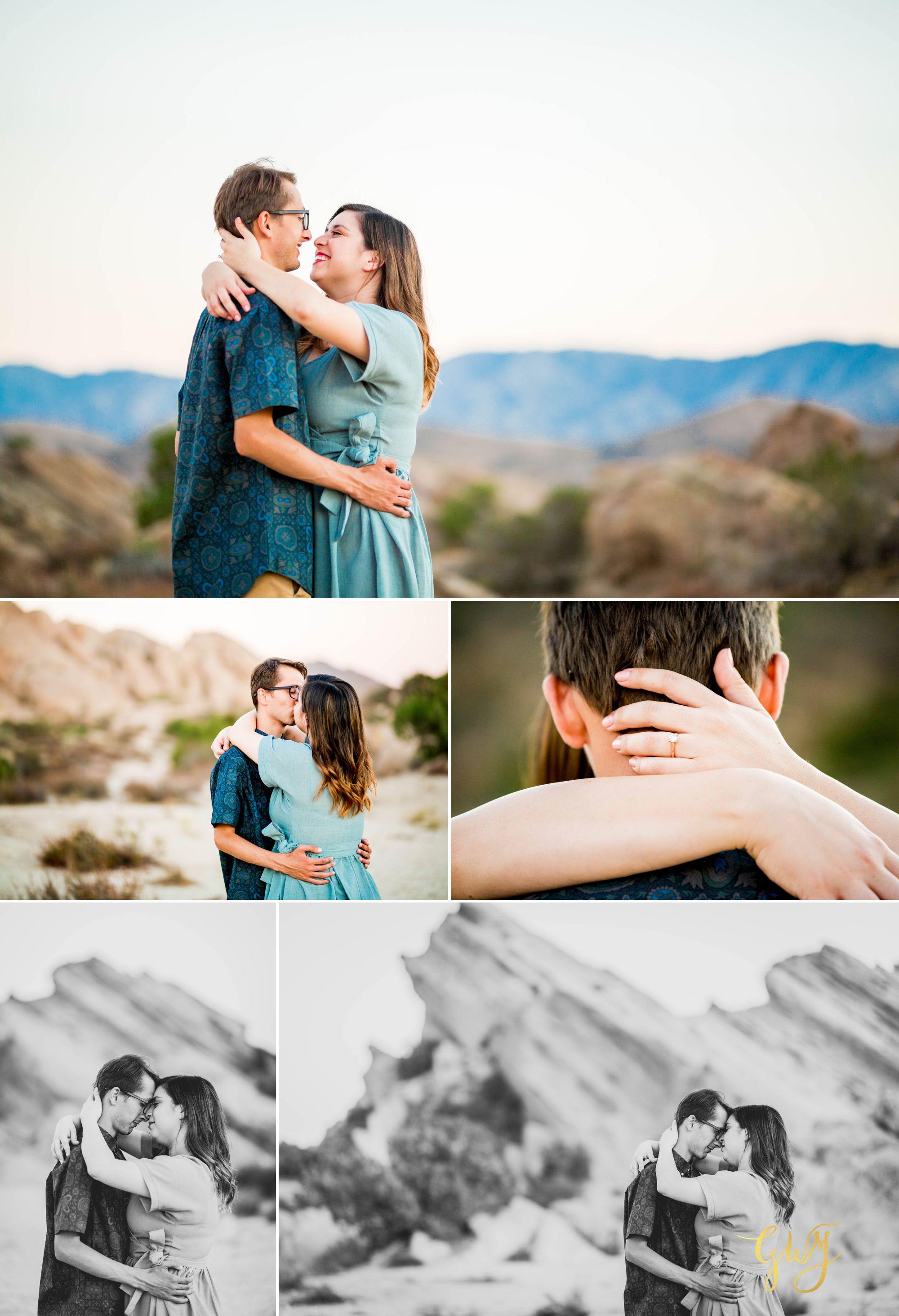 KJ + Maddie Vasquez Rocks Adventurous Hiking Outdoors Engagement Session by Glass Woods Media 15.jpg