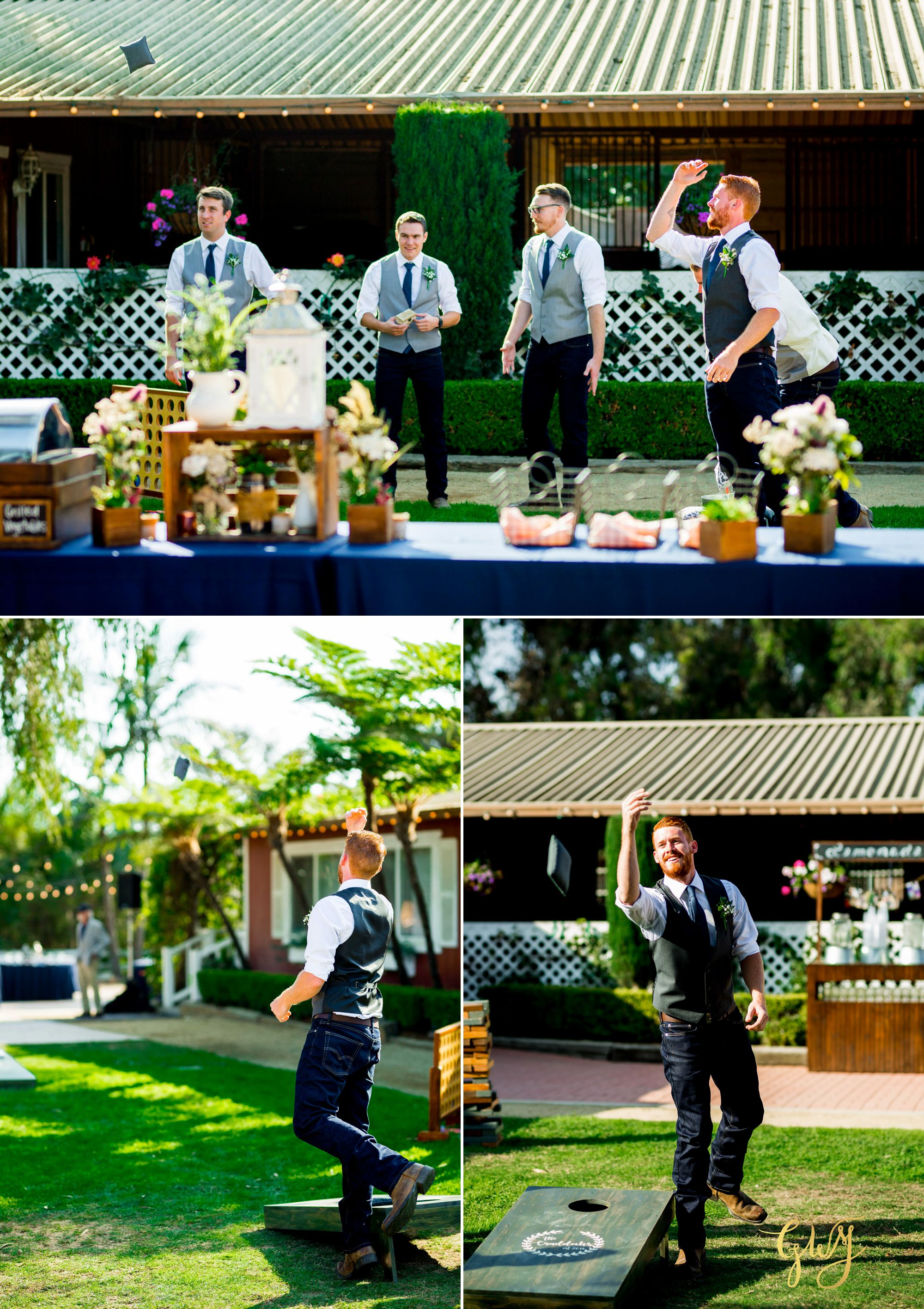 Hannah + Troy's Rustic Red Horse Barn Huntington Beach Wedding 25.jpg
