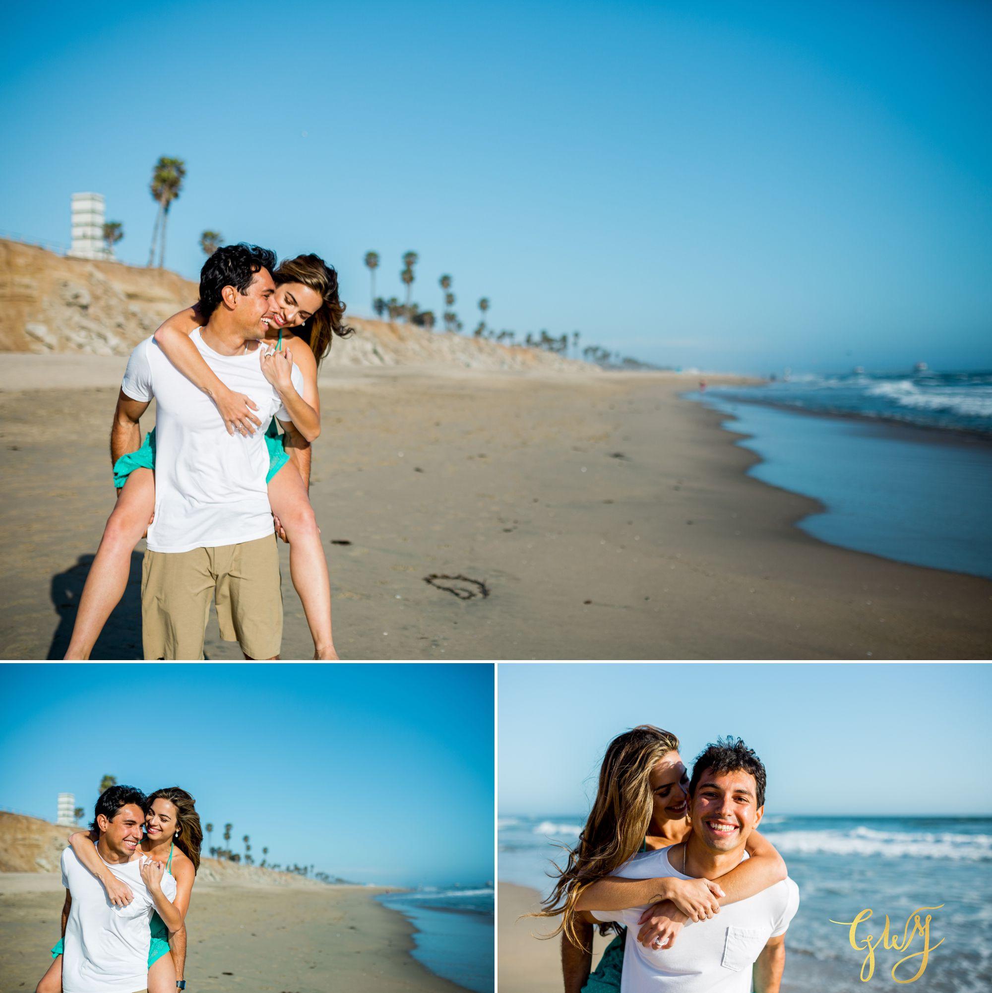 Felipe + Isabella Huntington Beach Summer Sunset Engagement Session by Glass Woods Media 6.jpg