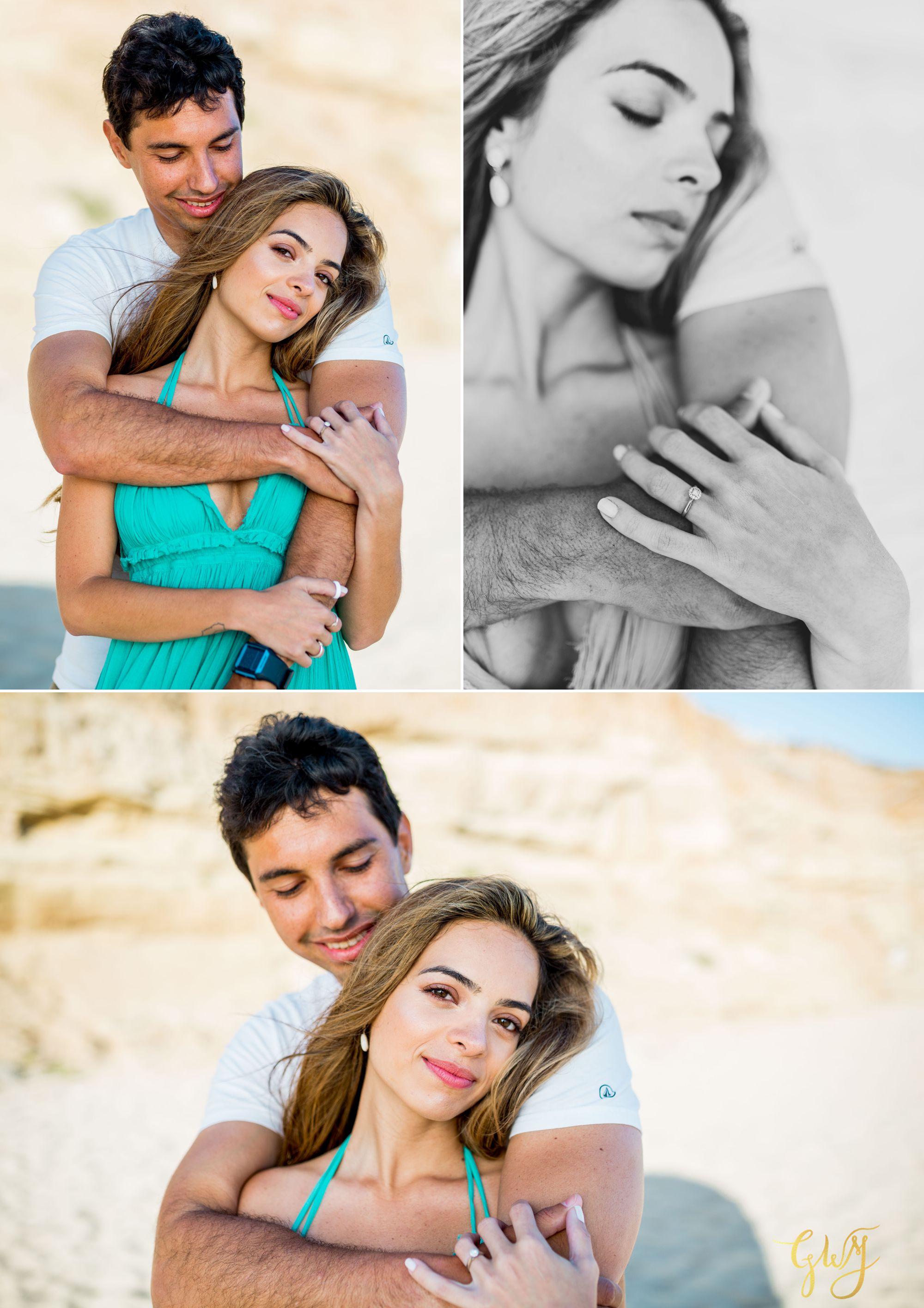 Felipe + Isabella Huntington Beach Summer Sunset Engagement Session by Glass Woods Media 8.jpg