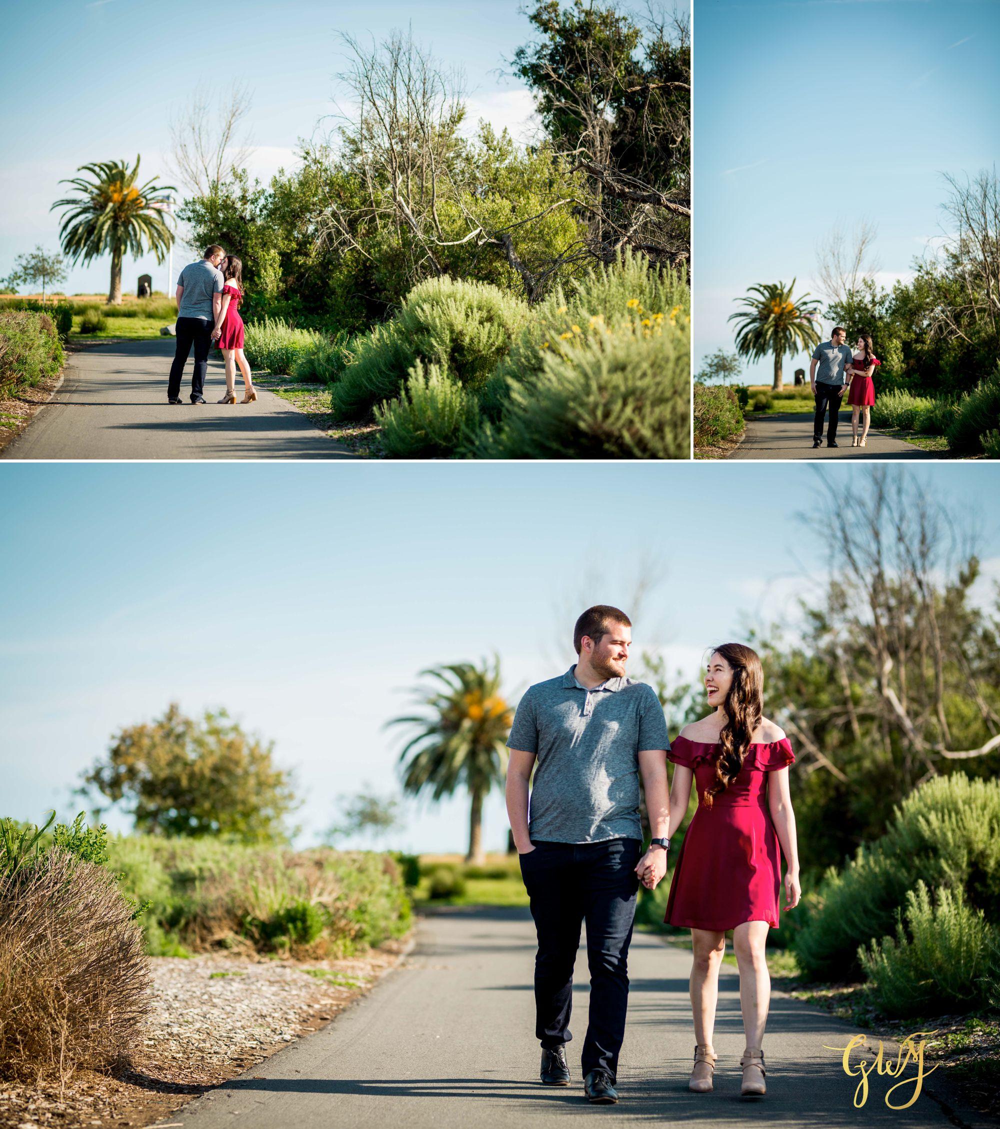 Ashley + Brandt California Super Bloom and Little Corona Del Mar Beach Engagement by Glass Woods Media 1.jpg