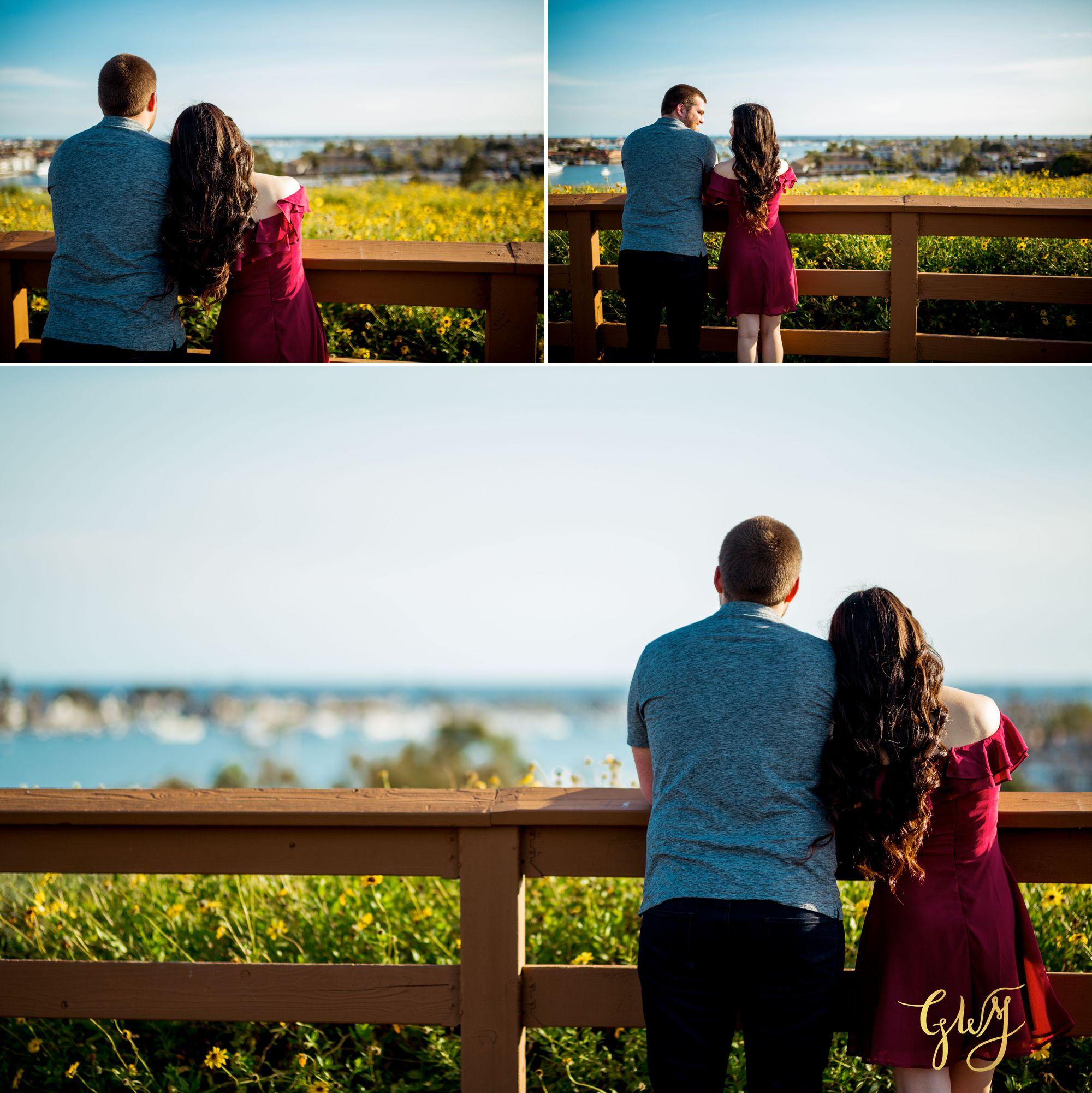 Ashley + Brandt California Super Bloom and Little Corona Del Mar Beach Engagement by Glass Woods Media 6.jpg