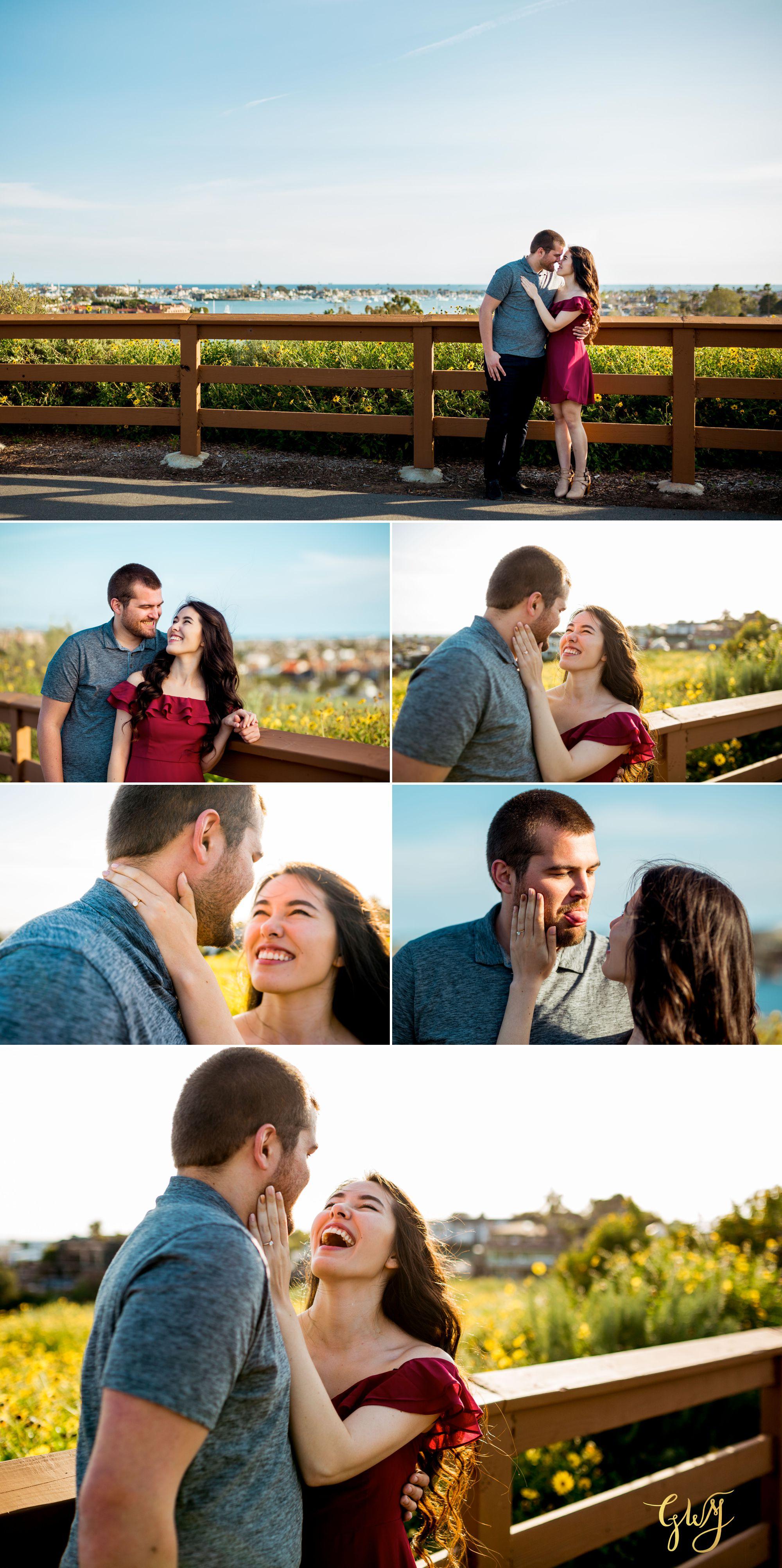 Ashley + Brandt California Super Bloom and Little Corona Del Mar Beach Engagement by Glass Woods Media 7.jpg