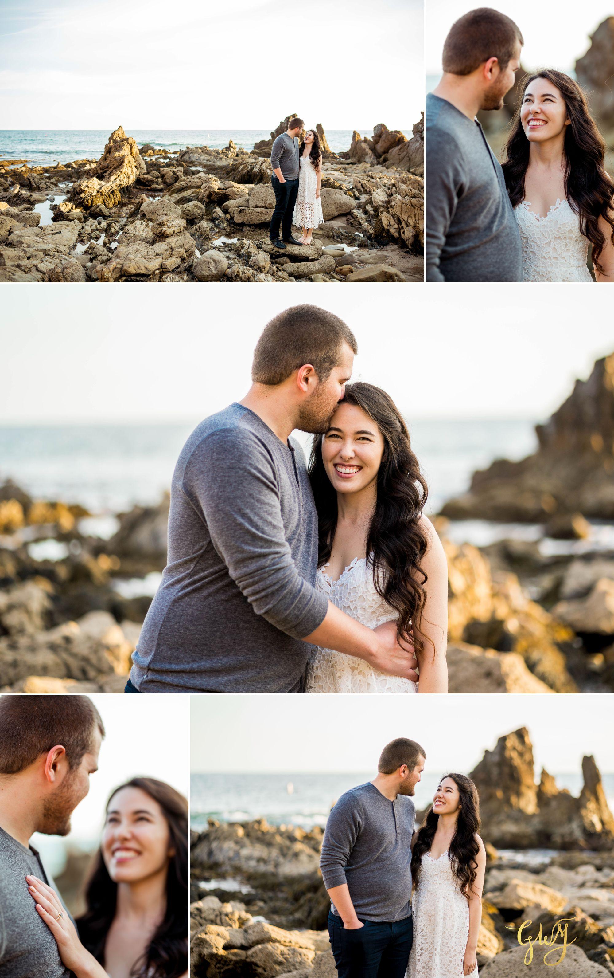 Ashley + Brandt California Super Bloom and Little Corona Del Mar Beach Engagement by Glass Woods Media 10.jpg