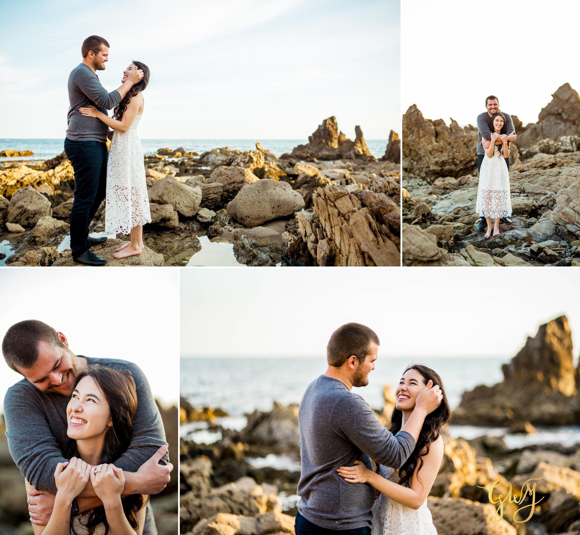 Ashley + Brandt California Super Bloom and Little Corona Del Mar Beach Engagement by Glass Woods Media 12.jpg