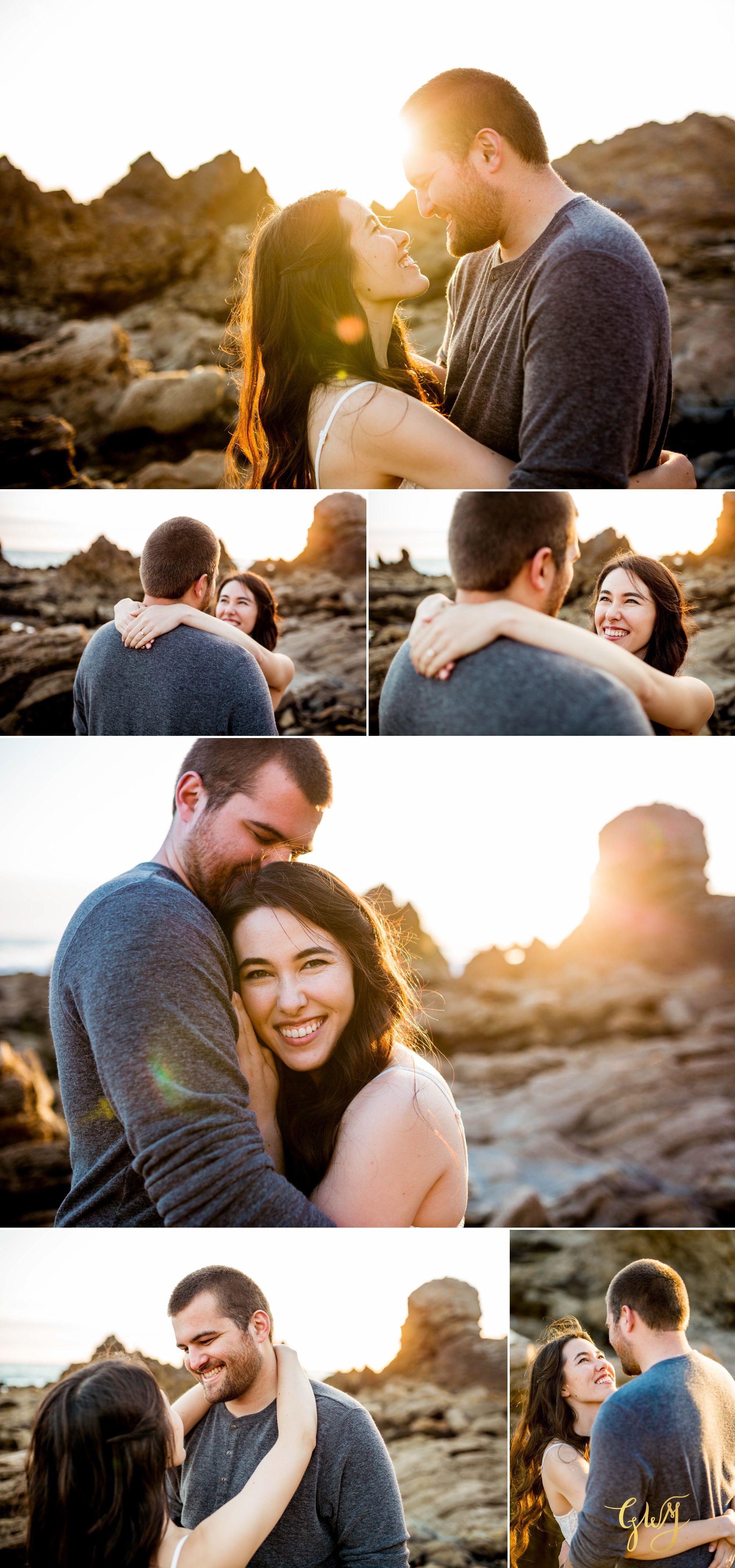 Ashley + Brandt California Super Bloom and Little Corona Del Mar Beach Engagement by Glass Woods Media 13.jpg