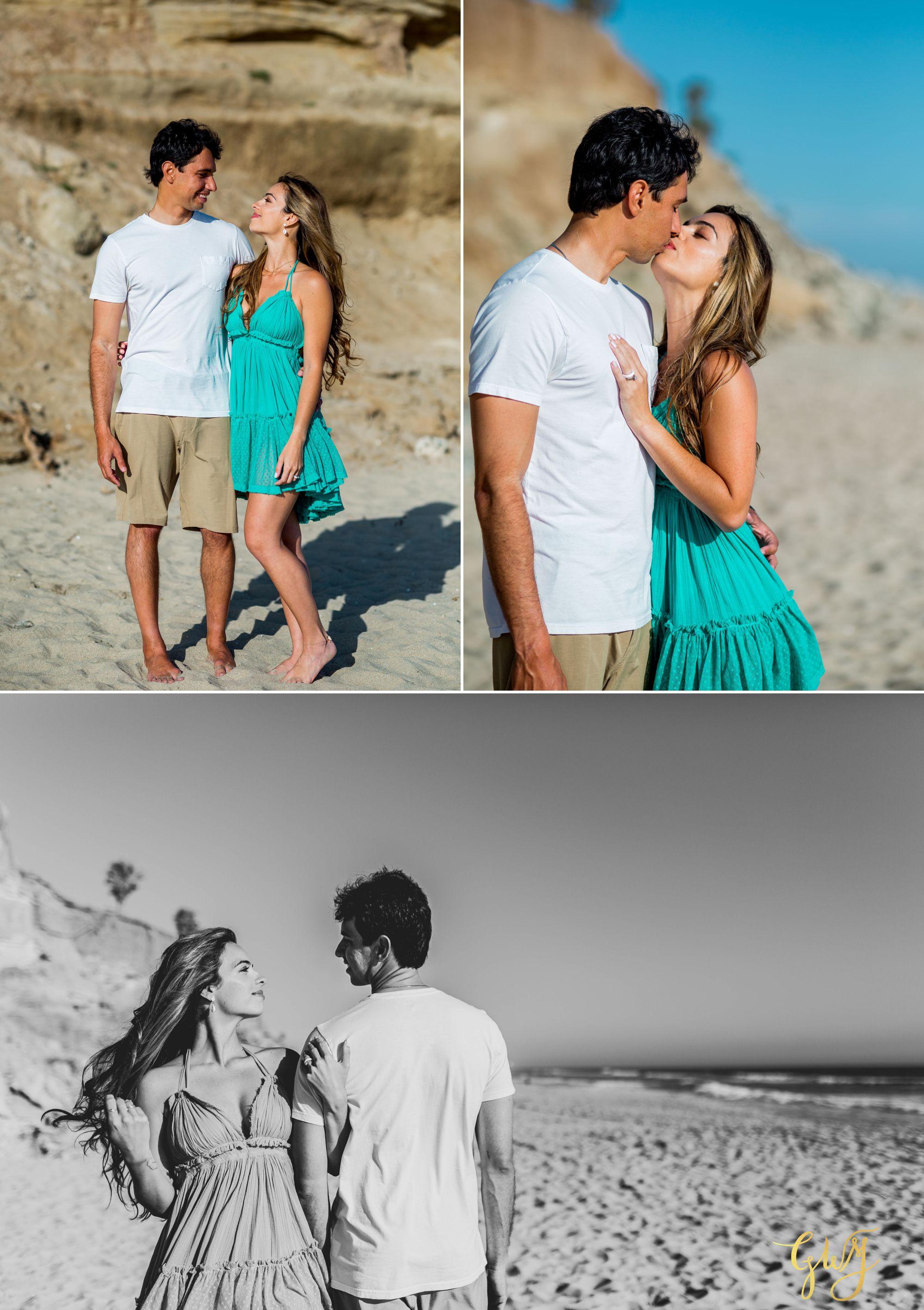 Felipe + Isabella Huntington Beach Summer Sunset Engagement Session by Glass Woods Media 2.jpg