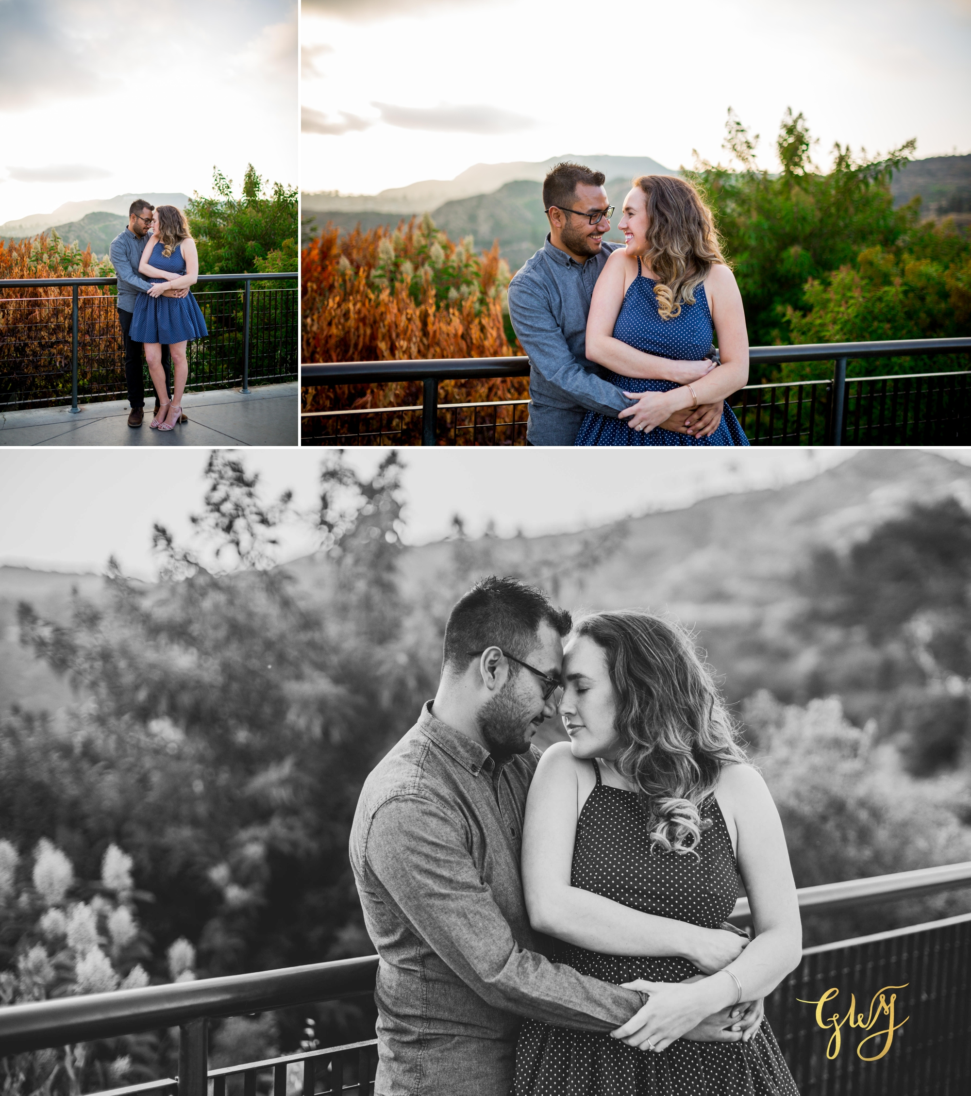 Emily + Gilbert's Griffith Observatory LA Dreamy Sunset Engagement Session by Glass Woods Media 10.jpg