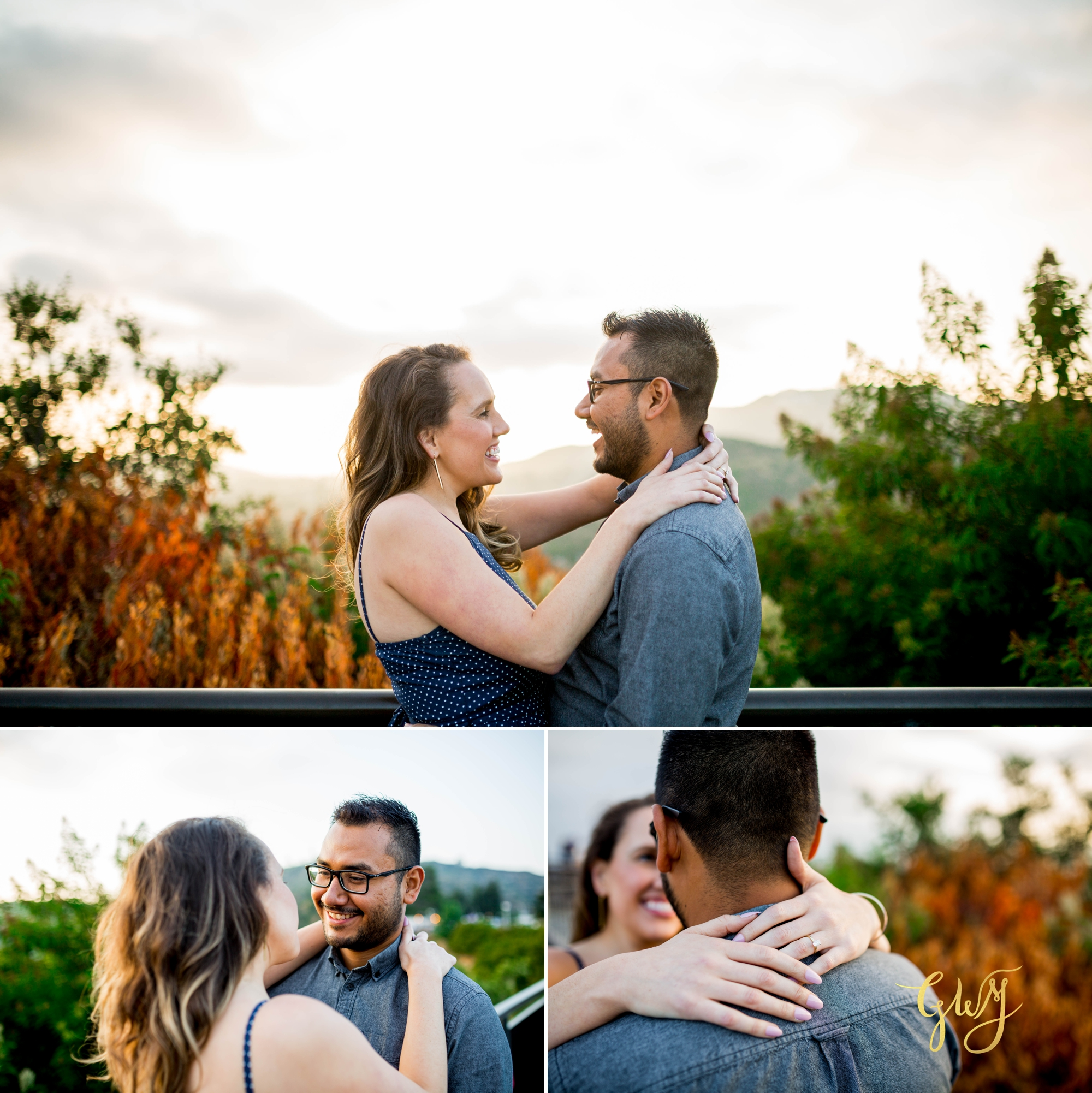 Emily + Gilbert's Griffith Observatory LA Dreamy Sunset Engagement Session by Glass Woods Media 12.jpg