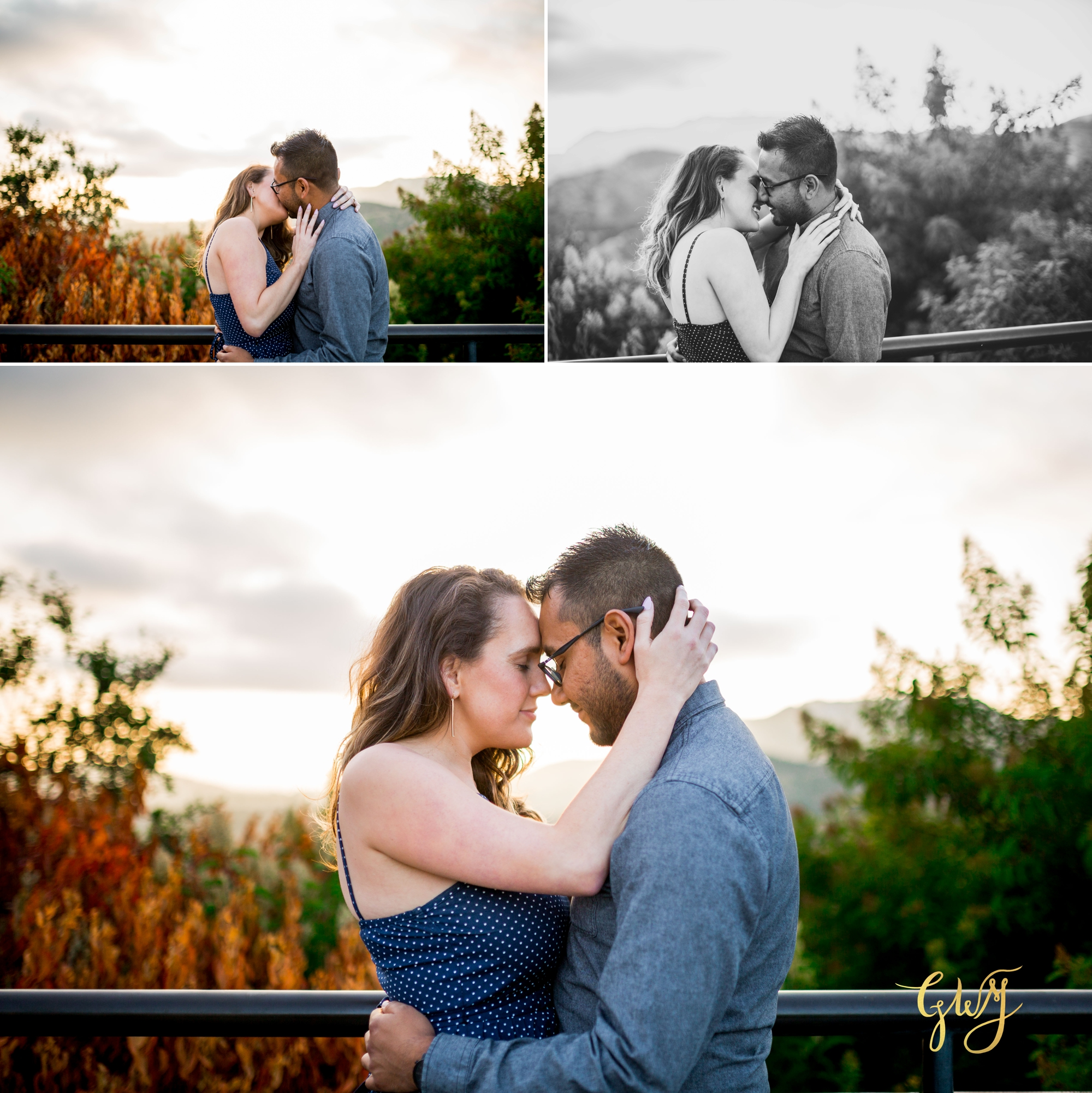 Emily + Gilbert's Griffith Observatory LA Dreamy Sunset Engagement Session by Glass Woods Media 13.jpg