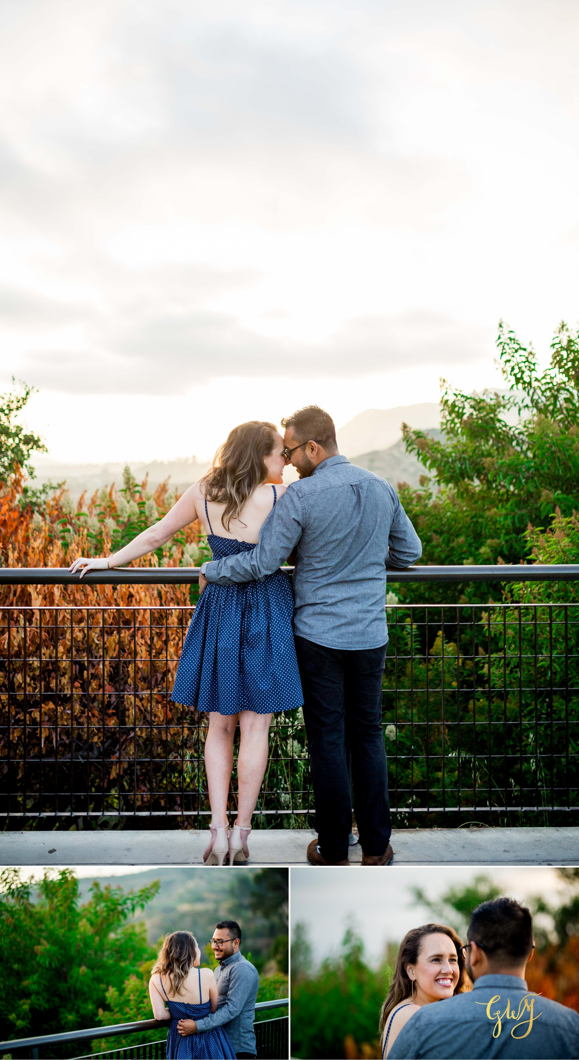 Emily + Gilbert's Griffith Observatory LA Dreamy Sunset Engagement Session by Glass Woods Media 14.jpg