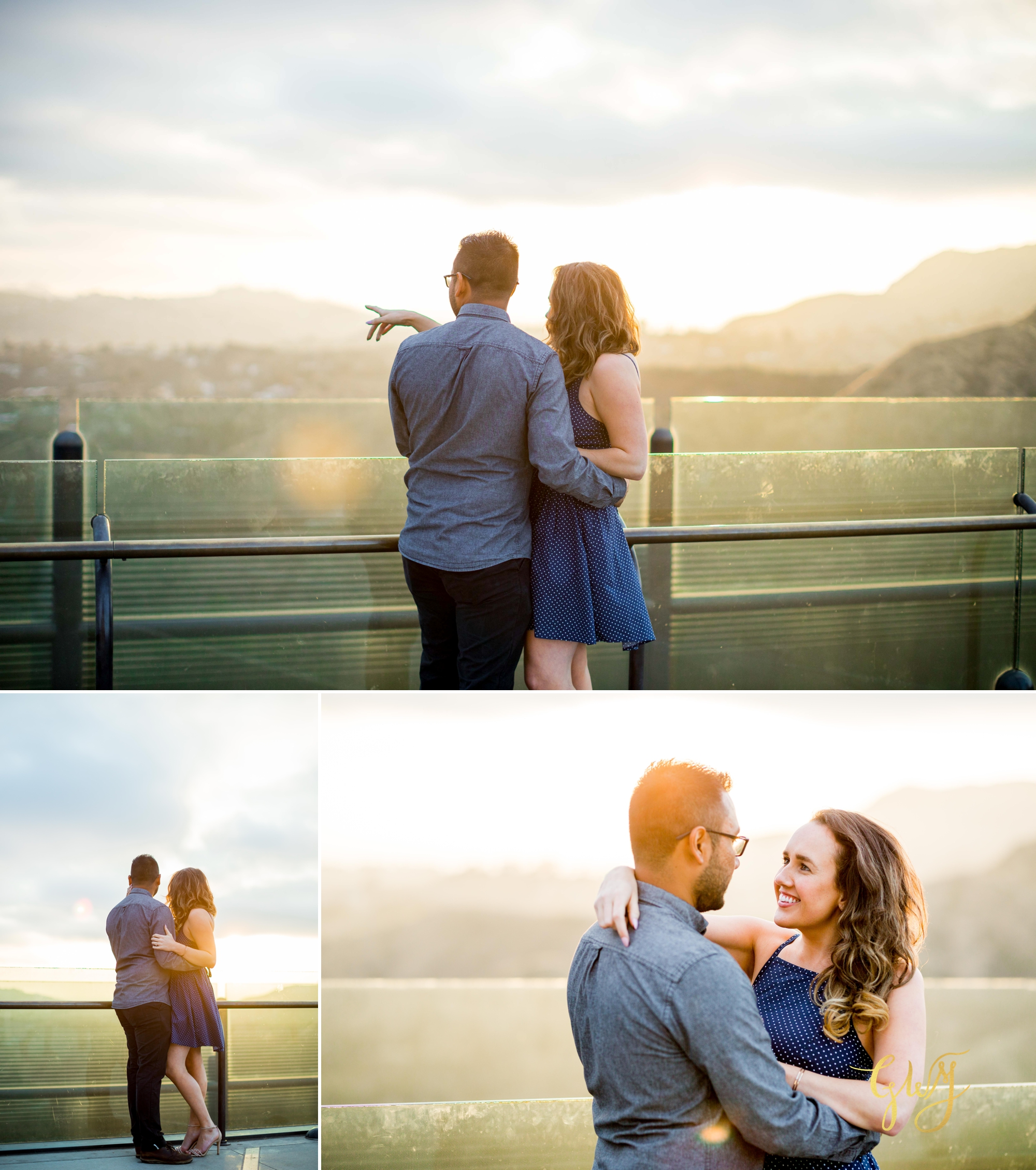 Emily + Gilbert's Griffith Observatory LA Dreamy Sunset Engagement Session by Glass Woods Media 15.jpg