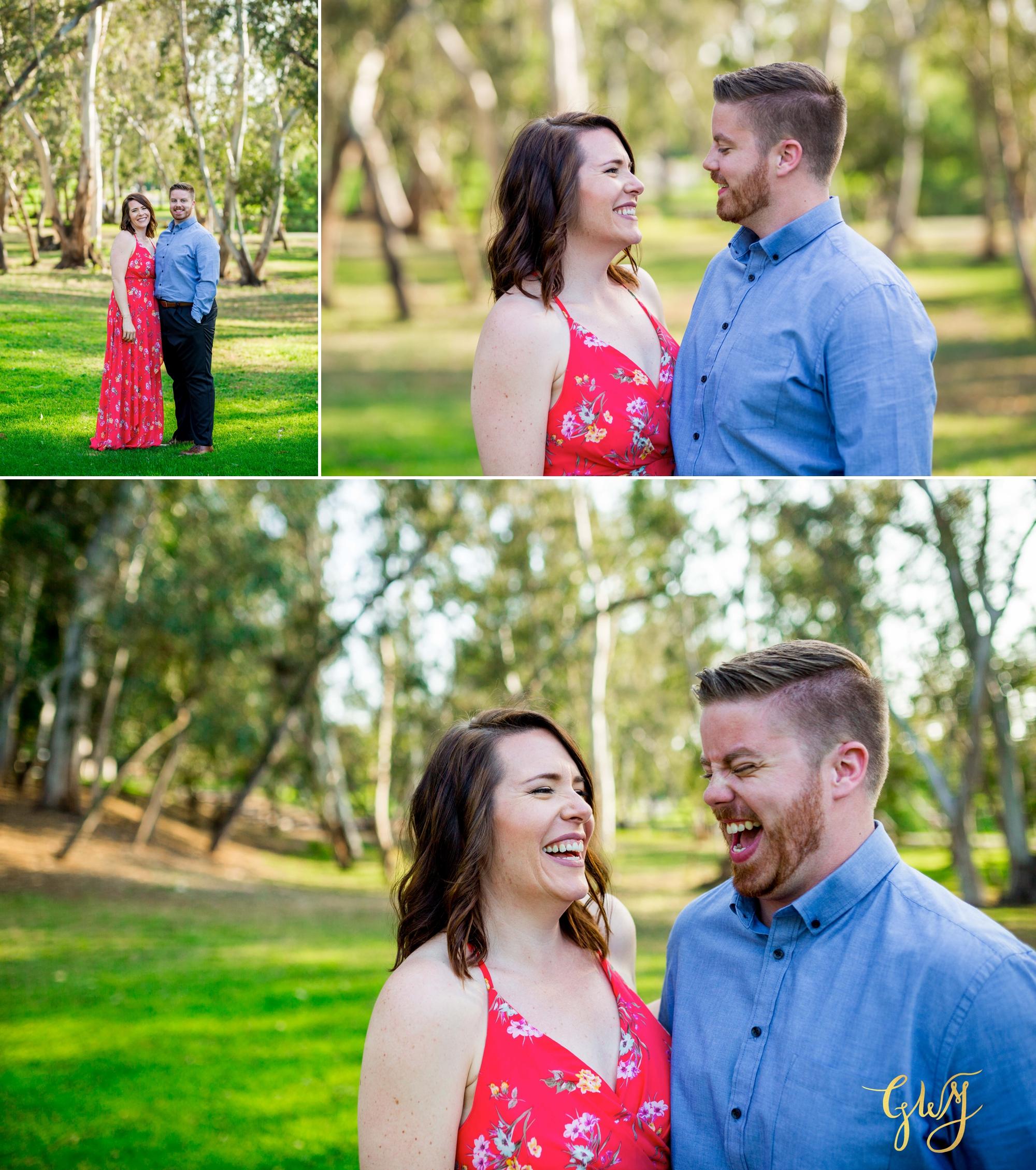 Cristina + David's Huntington Beach Central Park Romantic Sunset Engagement Session by Glass Woods Media 1.jpg