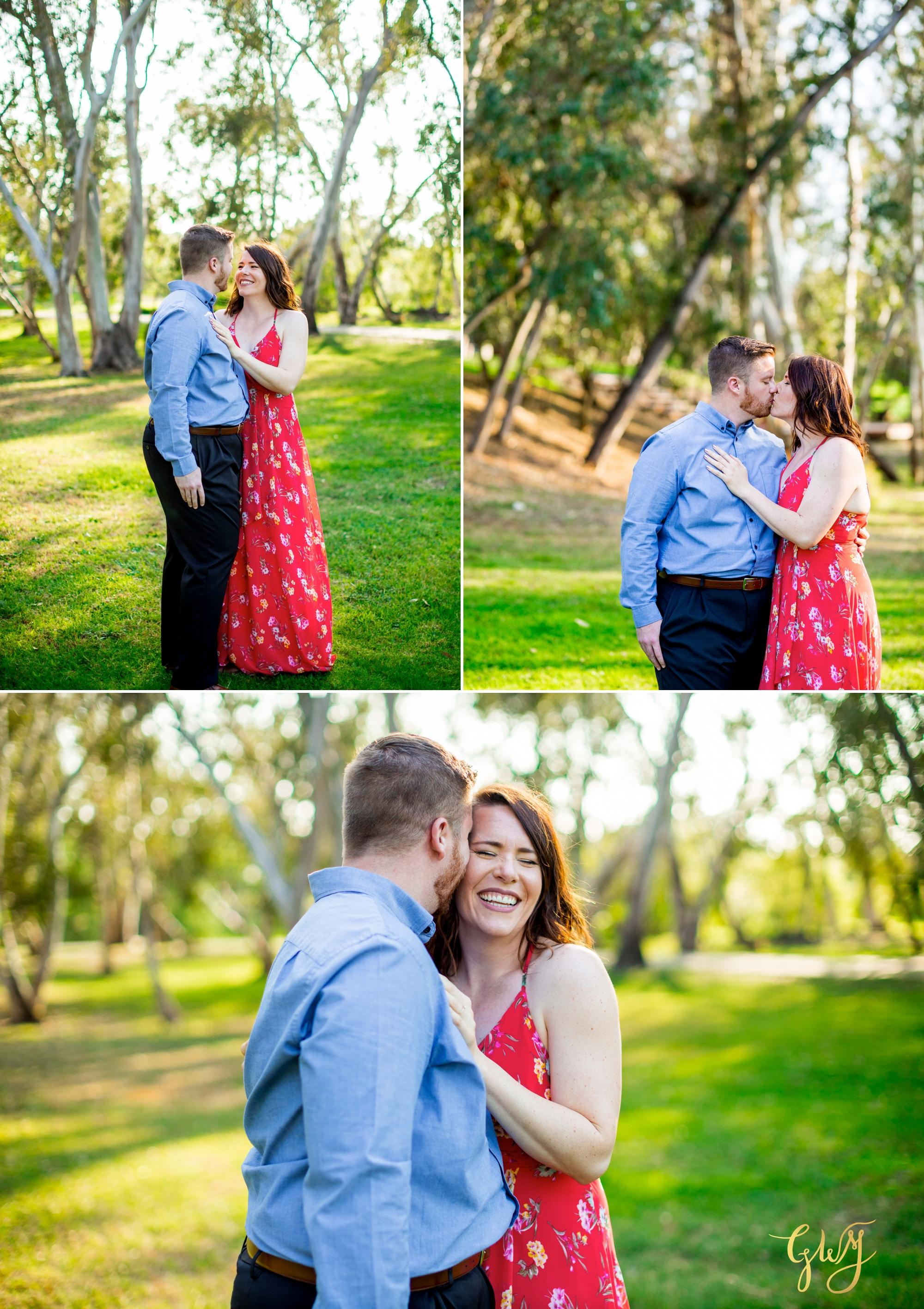 Cristina + David's Huntington Beach Central Park Romantic Sunset Engagement Session by Glass Woods Media 3.jpg