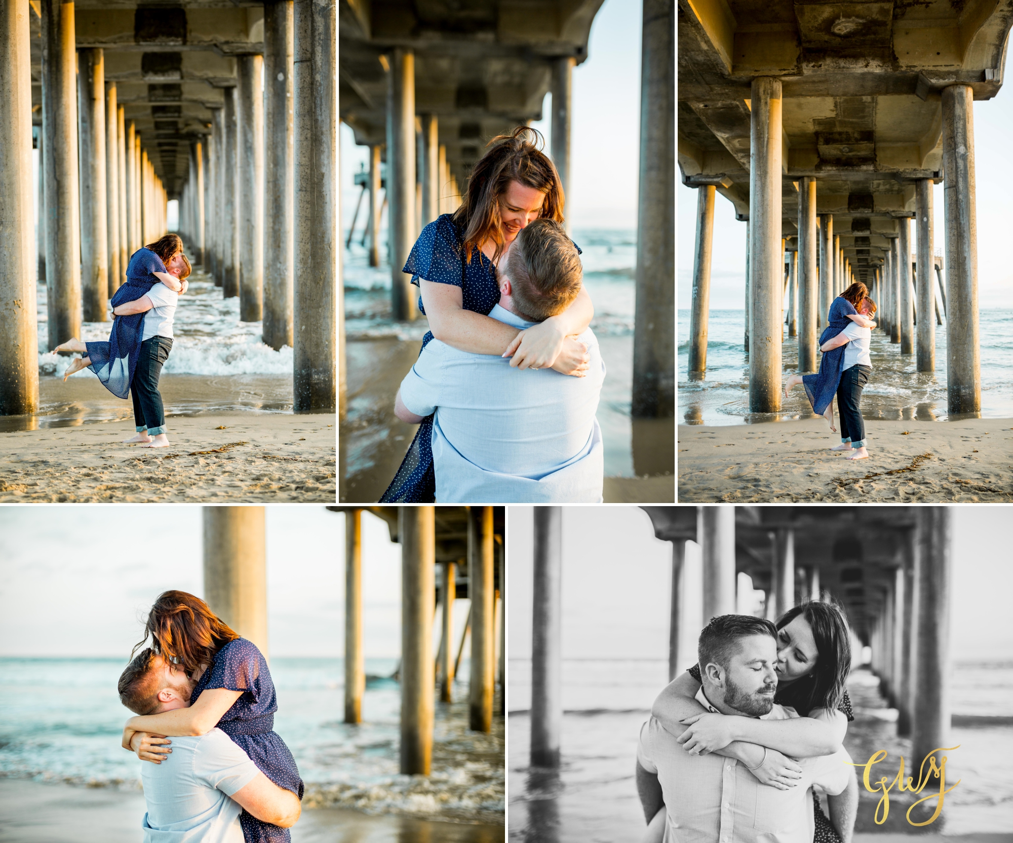 Cristina + David's Huntington Beach Central Park Romantic Sunset Engagement Session by Glass Woods Media 12.jpg
