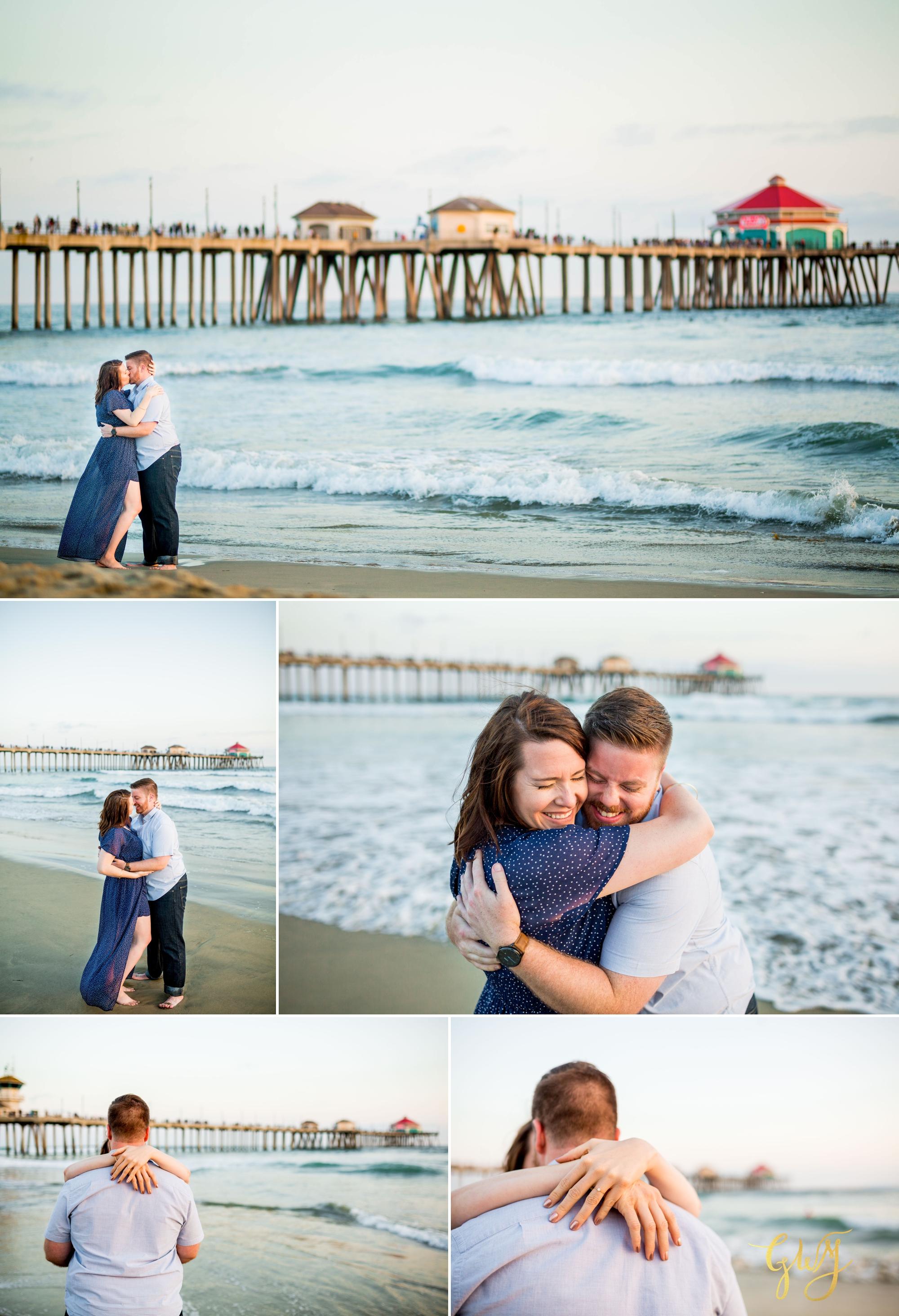 Cristina + David's Huntington Beach Central Park Romantic Sunset Engagement Session by Glass Woods Media 15.jpg
