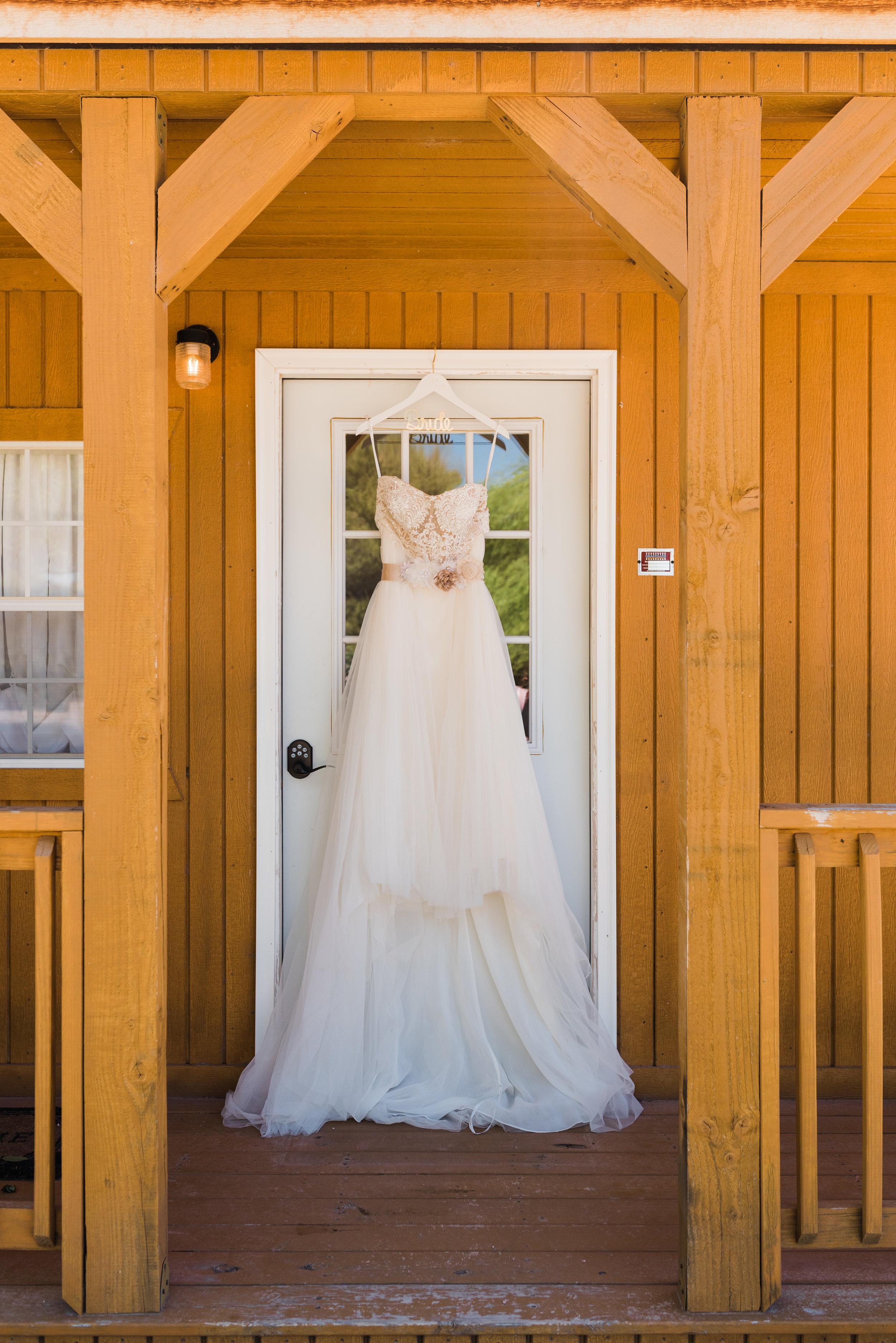 Queen Creek Wedding Photographer Wedding dress