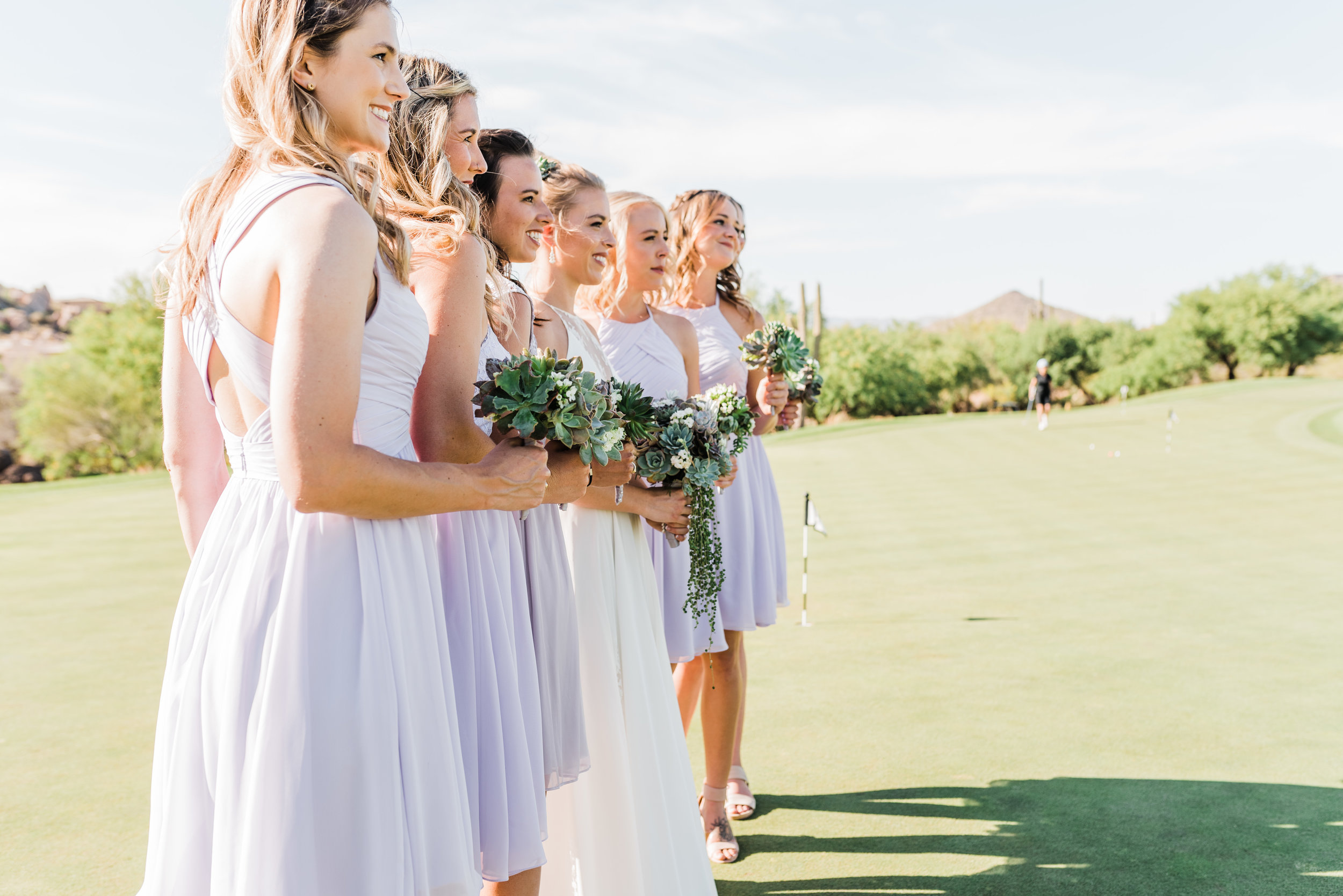 Scottsdlae Arizona Troon North wedding